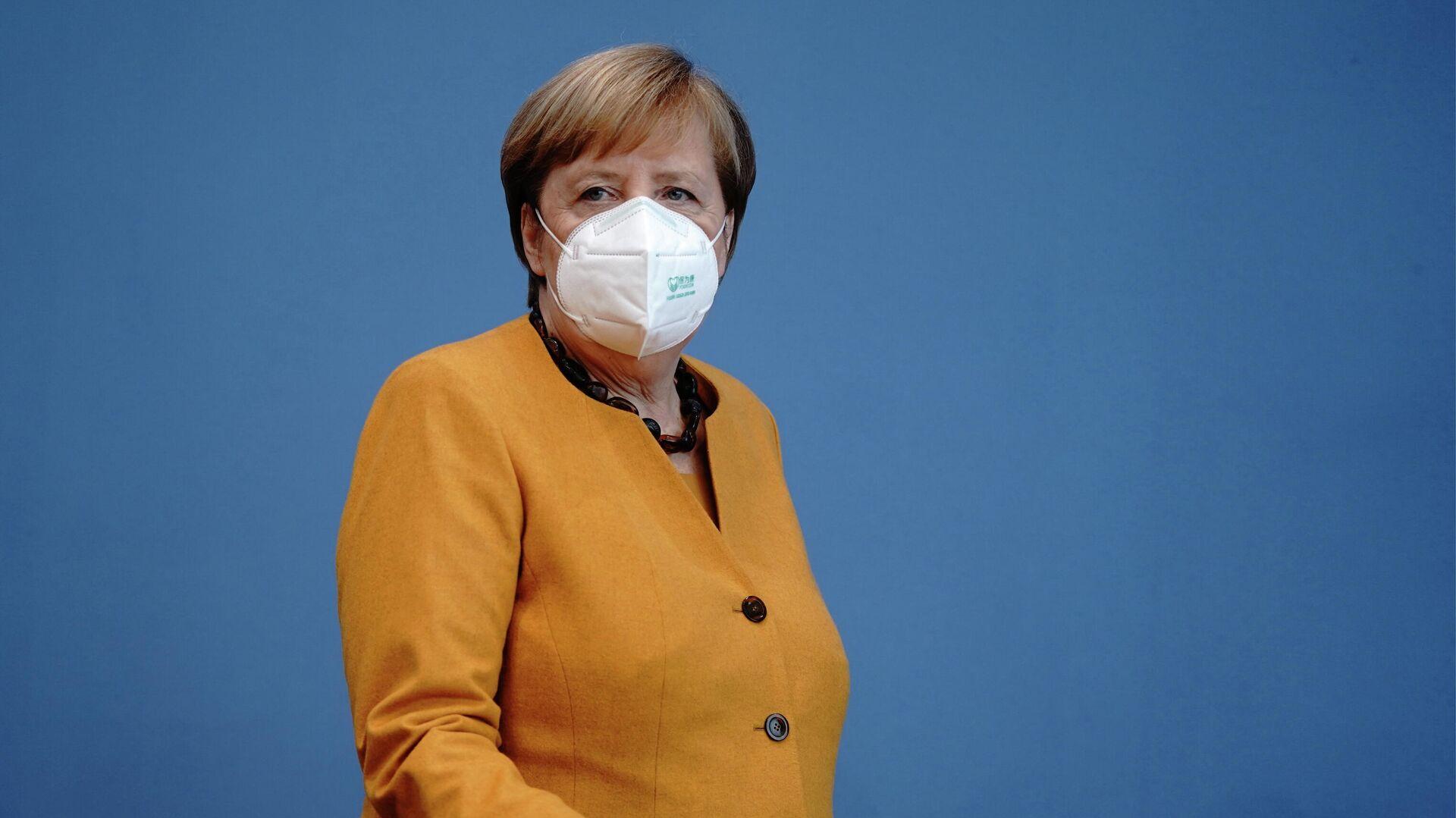 Angela Merkel am 2. November 2020 - SNA, 1920, 19.12.2020