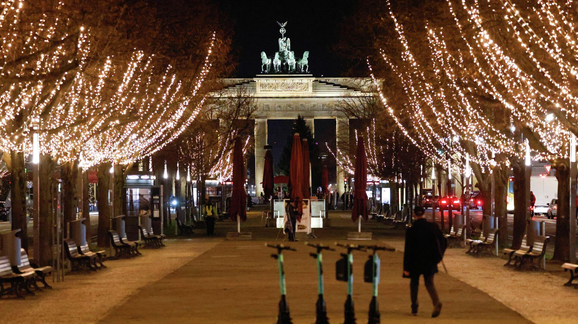 Weihnachtsbeleuchtung in Berlin - SNA, 1920, 12.12.2020