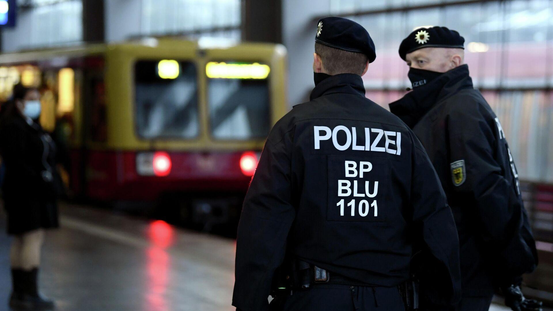 Polizei in Deutschland (Archivbild) - SNA, 1920, 26.12.2020