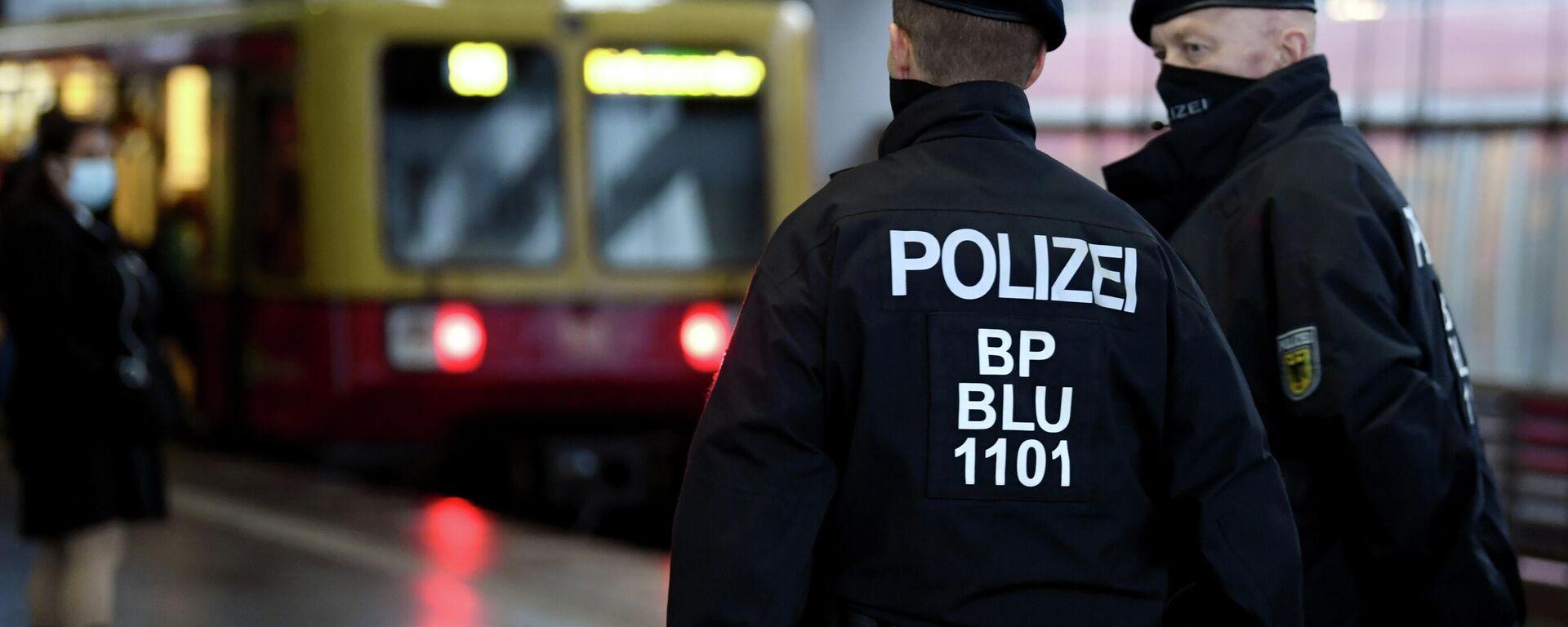 Polizei in Deutschland (Archivbild) - SNA, 1920, 31.12.2020