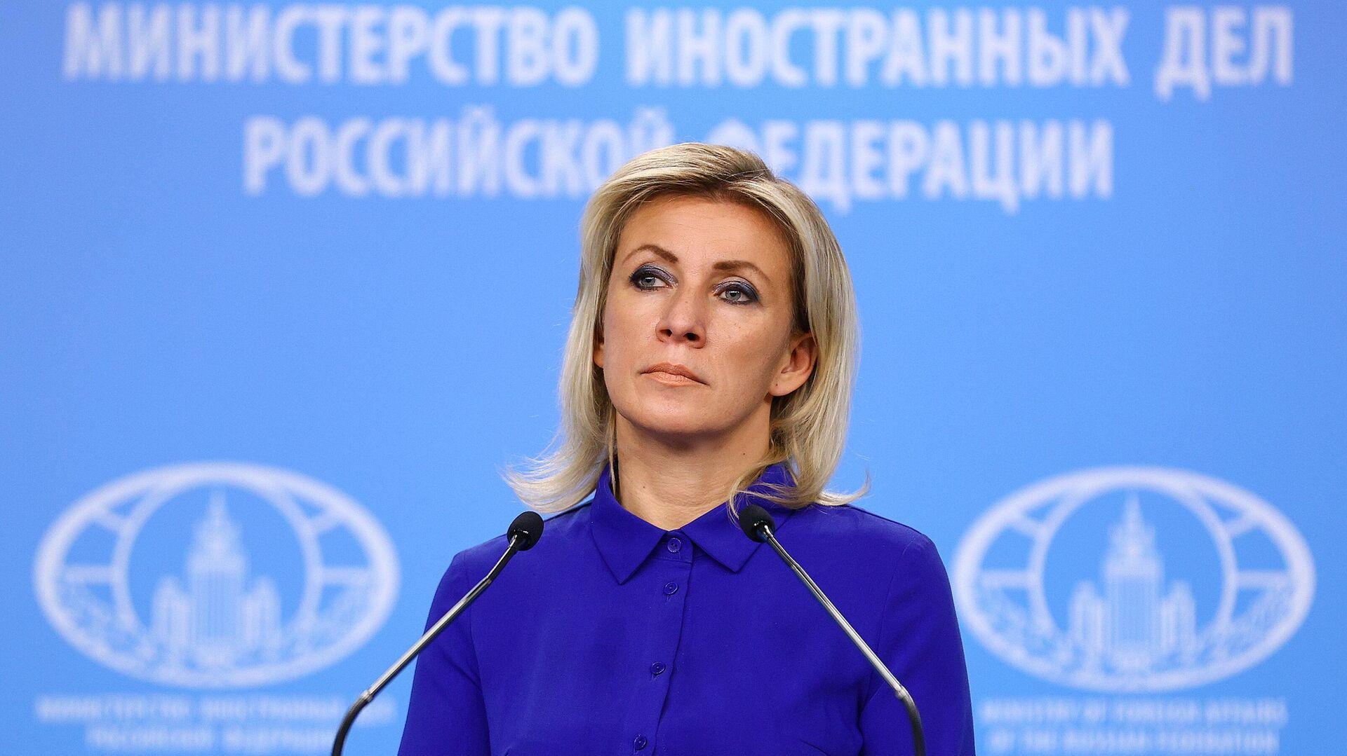 Sprecherin des russischen Außenministeriums Maria Sacharowa (Archivfoto) - SNA, 1920, 31.07.2021
