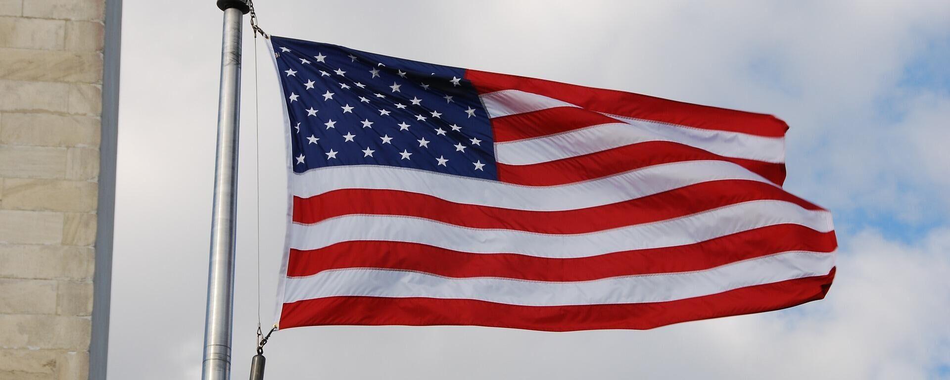 US Flagge (Symbolbild) - SNA, 1920, 03.07.2021