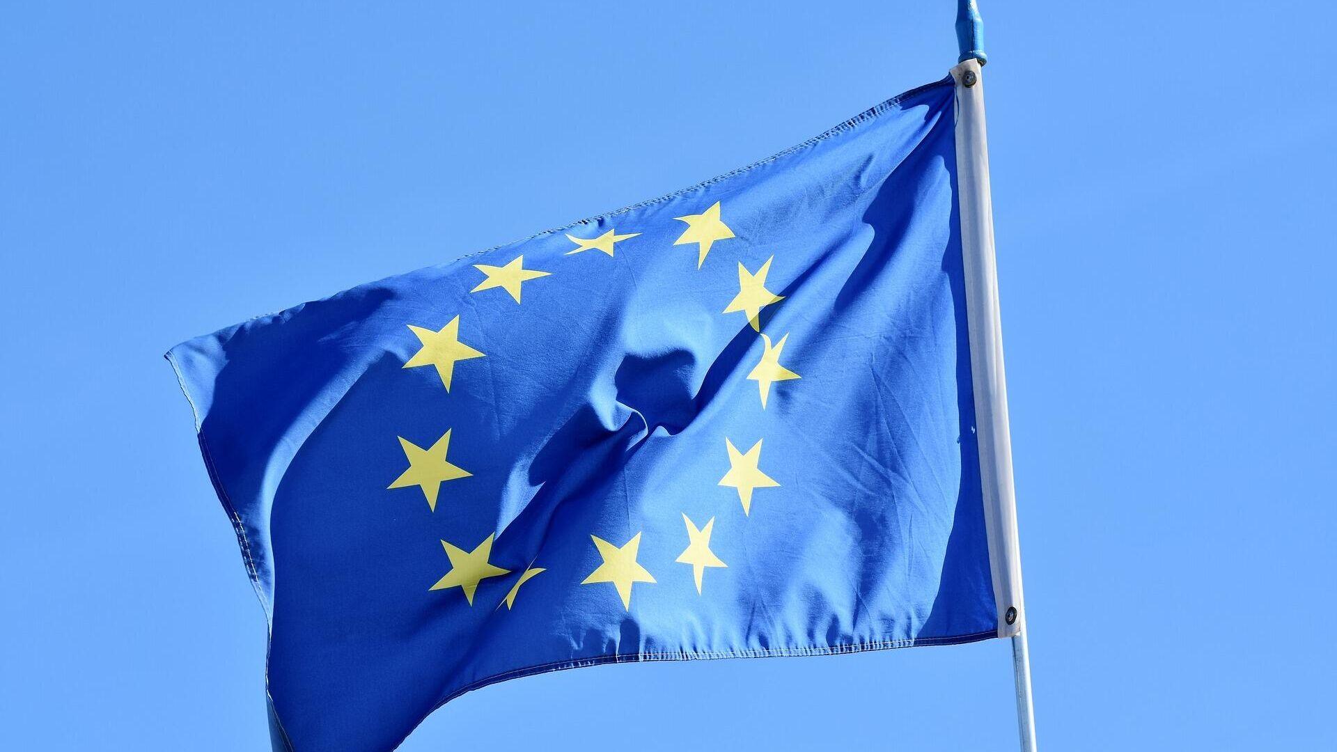 EU Flagge (Symbolbild) - SNA, 1920, 06.06.2021