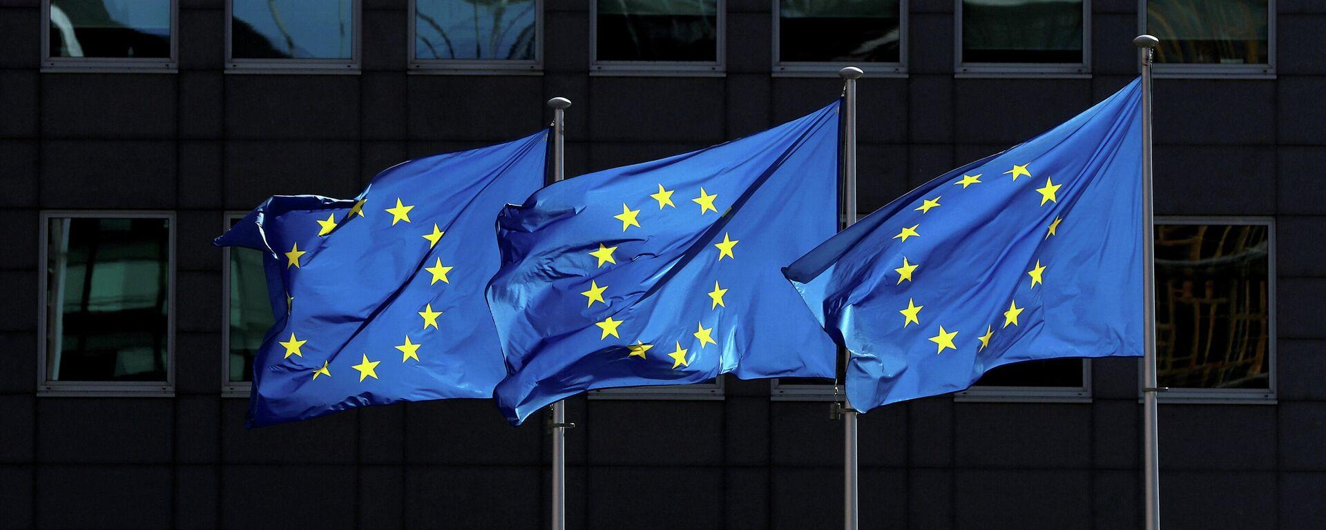 EU Flagge (Symbolbild) - SNA, 1920, 22.12.2020