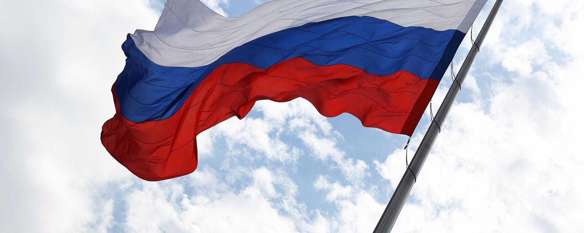 Russische Fahne (Symbolbild) - SNA, 1920, 11.08.2021