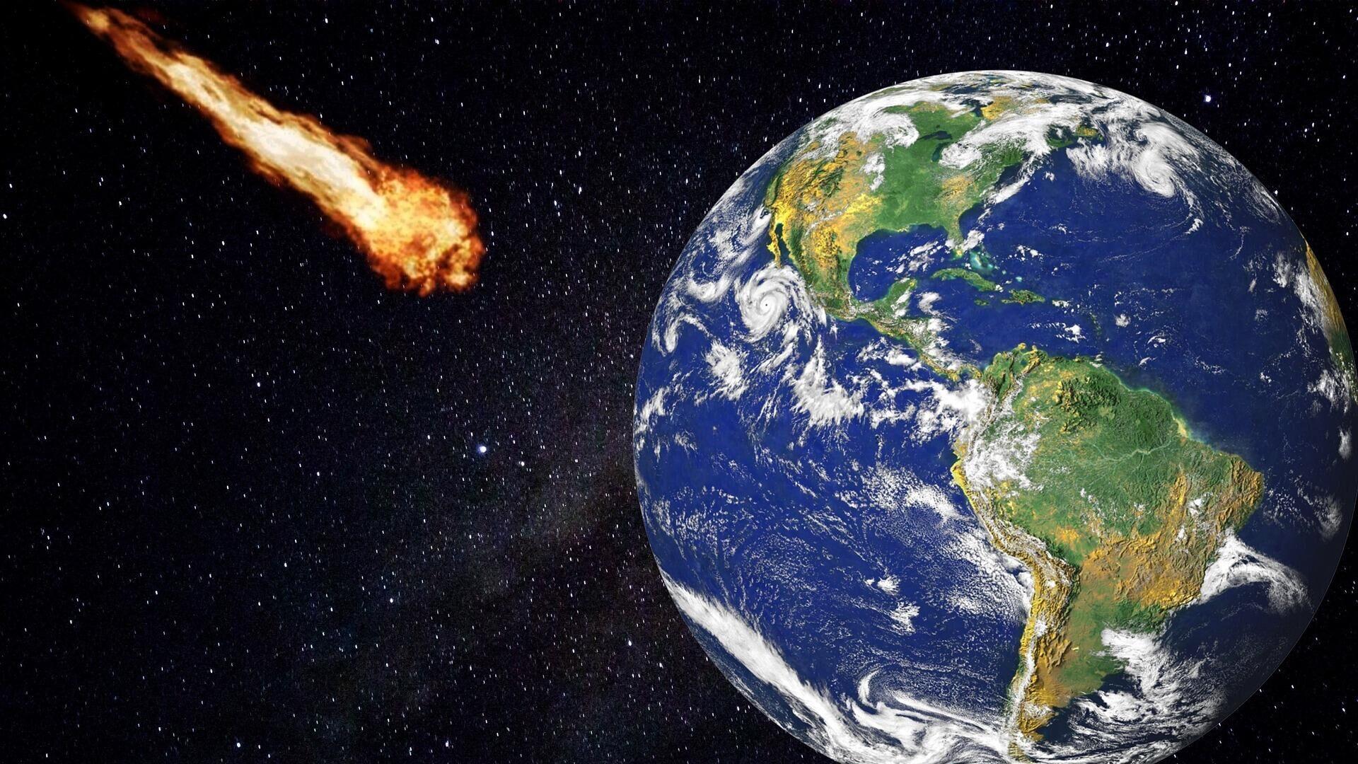 Asteroid (Symbolbild) - SNA, 1920, 04.10.2021