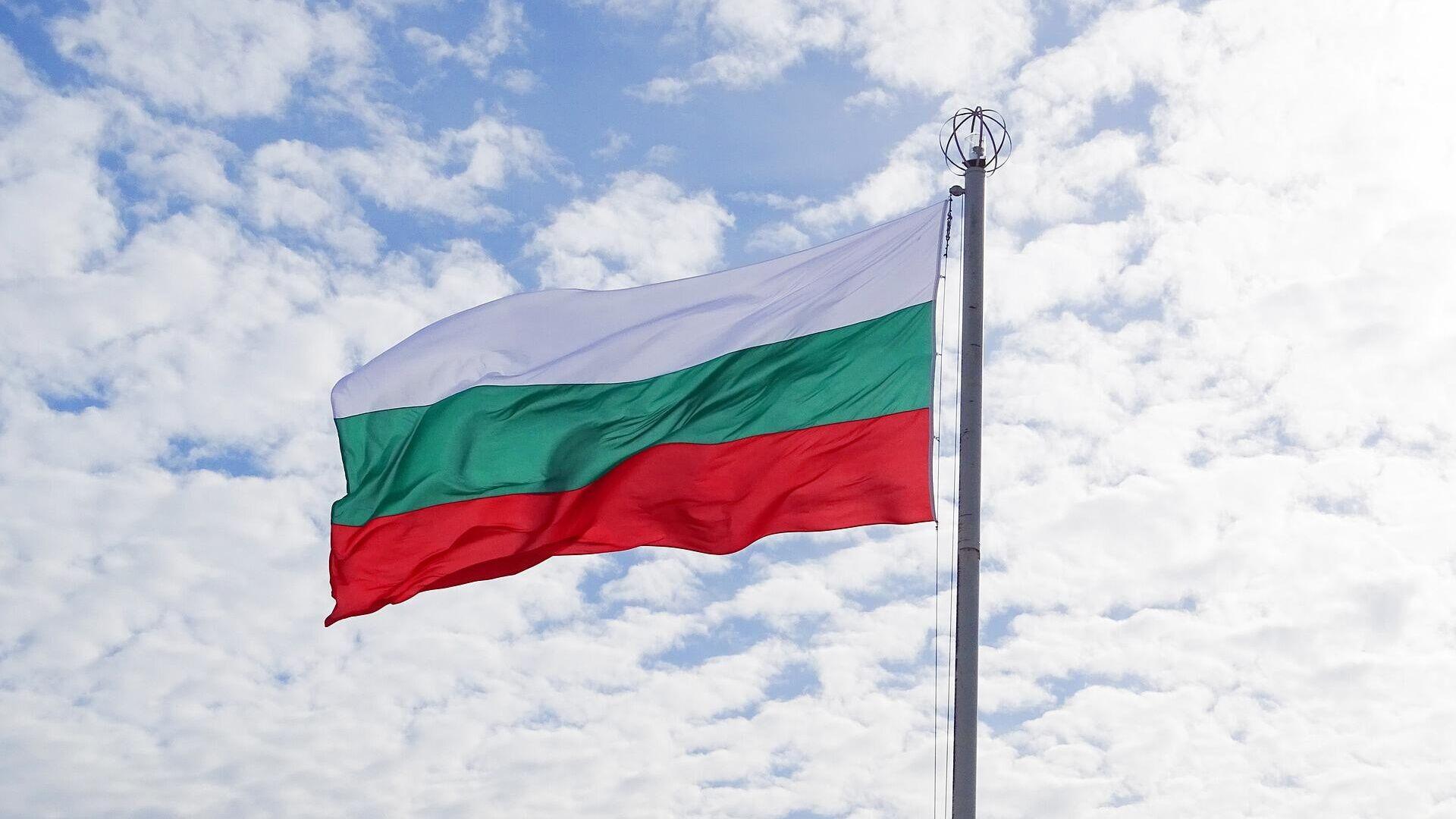 Bulgarische Flagge (Symbolbild) - SNA, 1920, 16.09.2021
