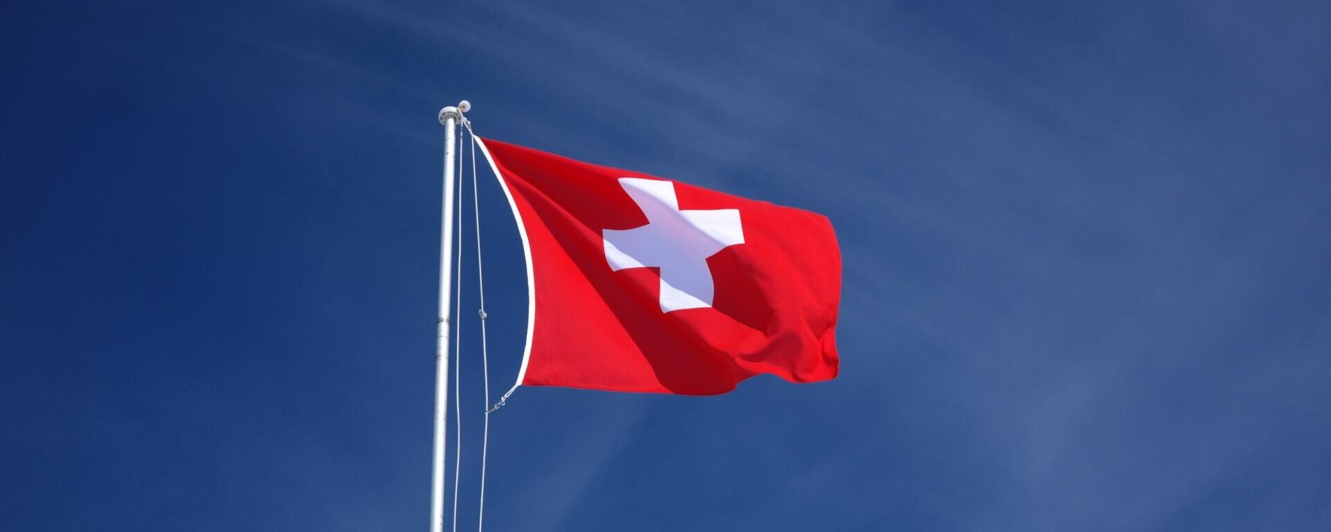 Schweizer Flagge  - SNA, 1920, 01.06.2021