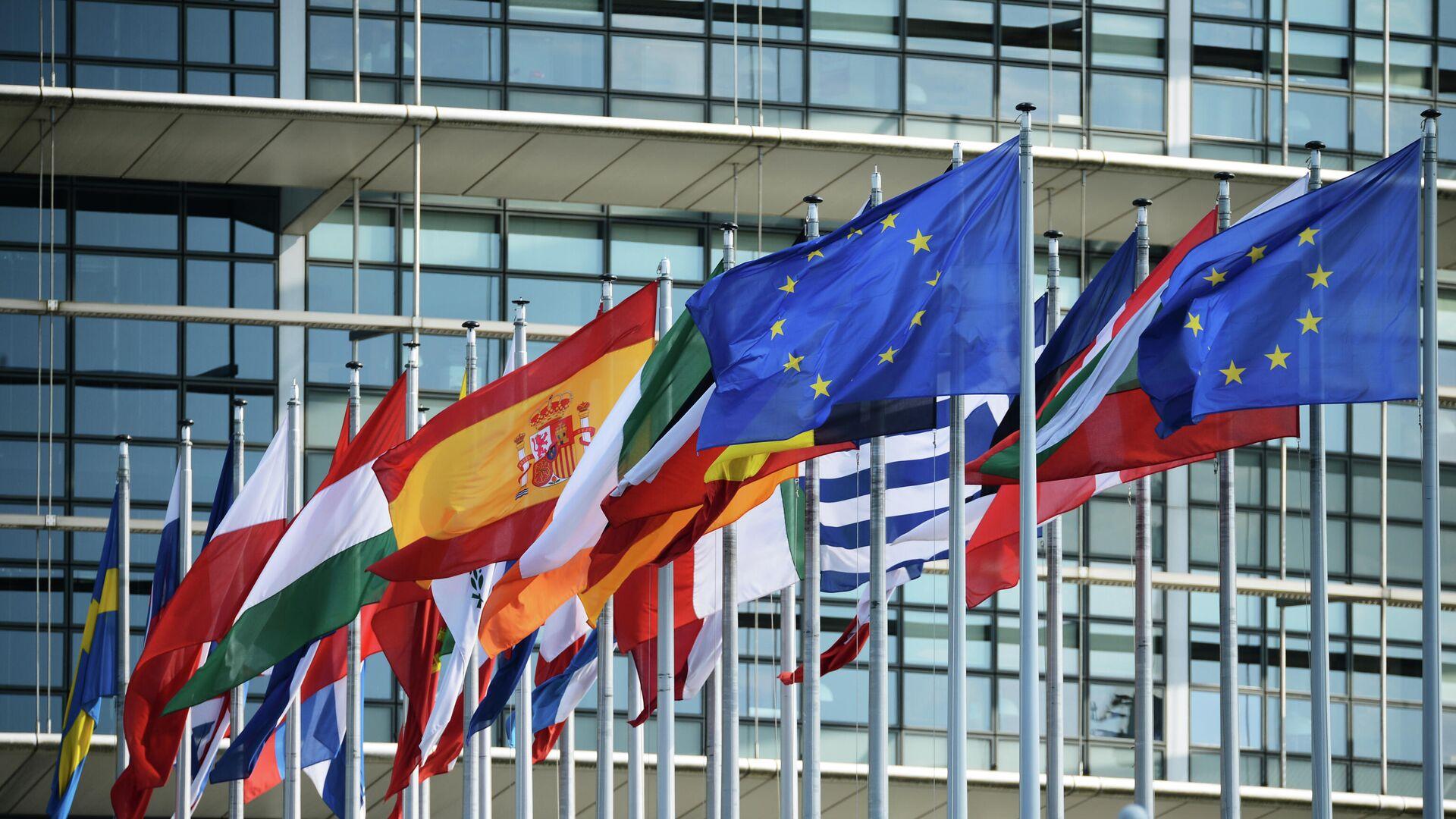 Europäisches Parlament in Straßburg - SNA, 1920, 16.09.2021