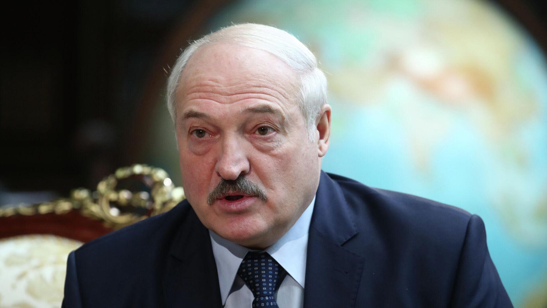 Alexander Lukaschenko (Archivfoto) - SNA, 1920, 02.10.2021