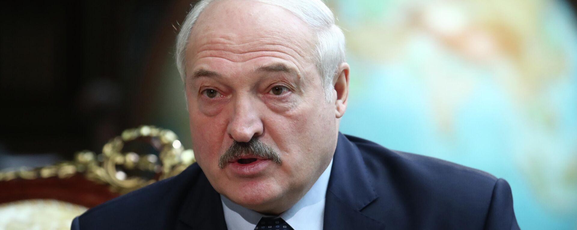 Alexander Lukaschenko (Archivfoto) - SNA, 1920, 30.09.2021