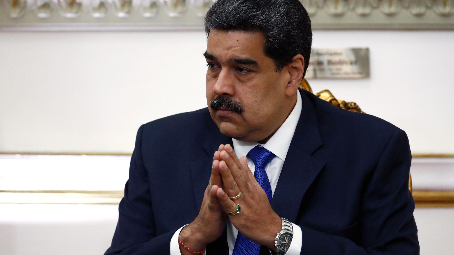 Venezuelas Präsident Nicolás Maduro (Archiv) - SNA, 1920, 04.01.2021