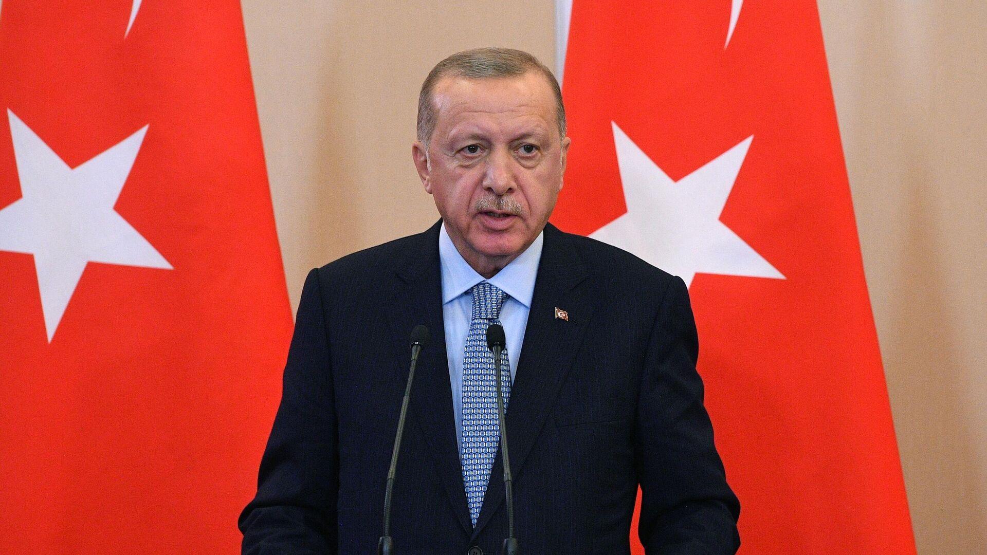 Der türkische Präsident Recep Tayyip Erdogan (Archivfoto)  - SNA, 1920, 05.04.2021