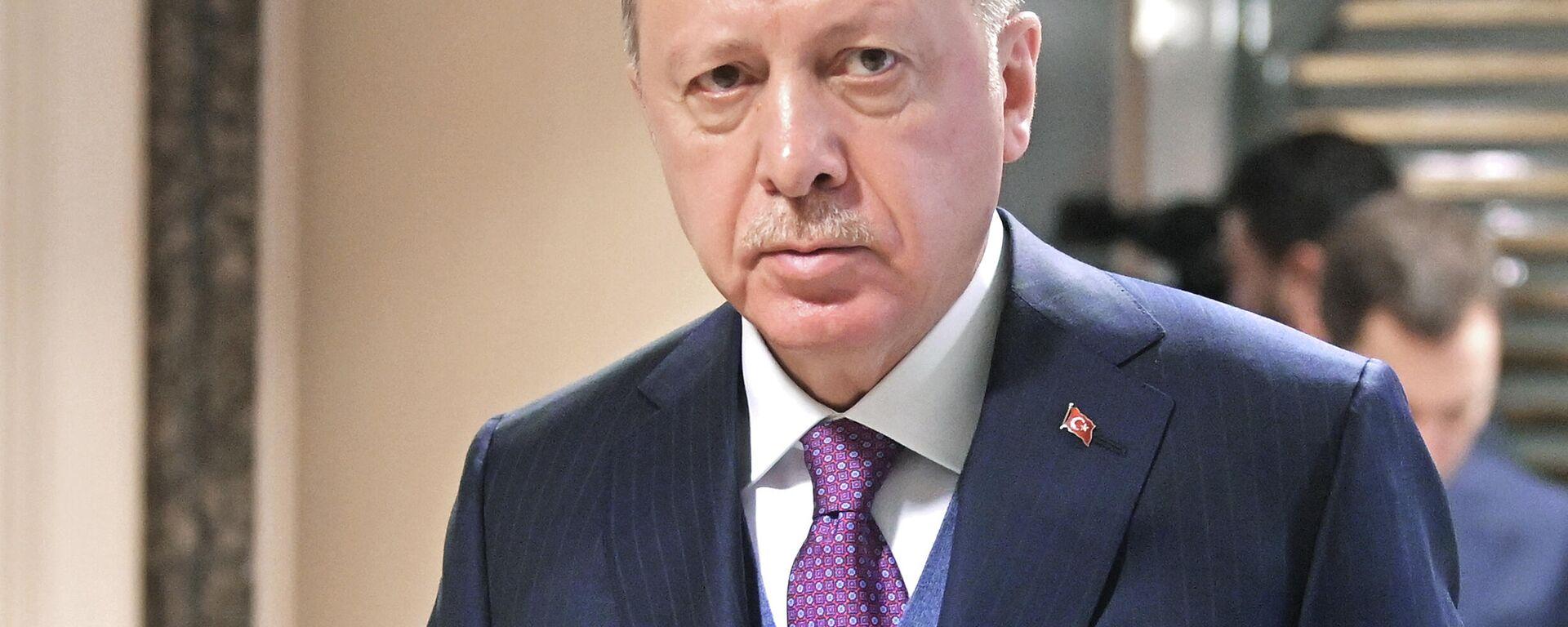 Der türkische Präsident Recep Tayyip Erdogan (Archivfoto) - SNA, 1920, 24.07.2021