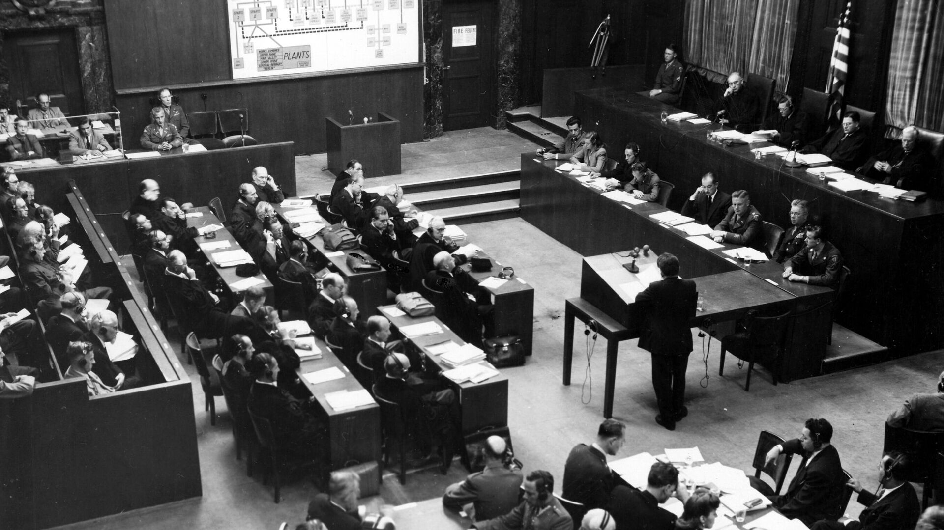 Nürnberger Prozess gegen die Hauptkriegsverbrecher, 1948 - SNA, 1920, 07.12.2020