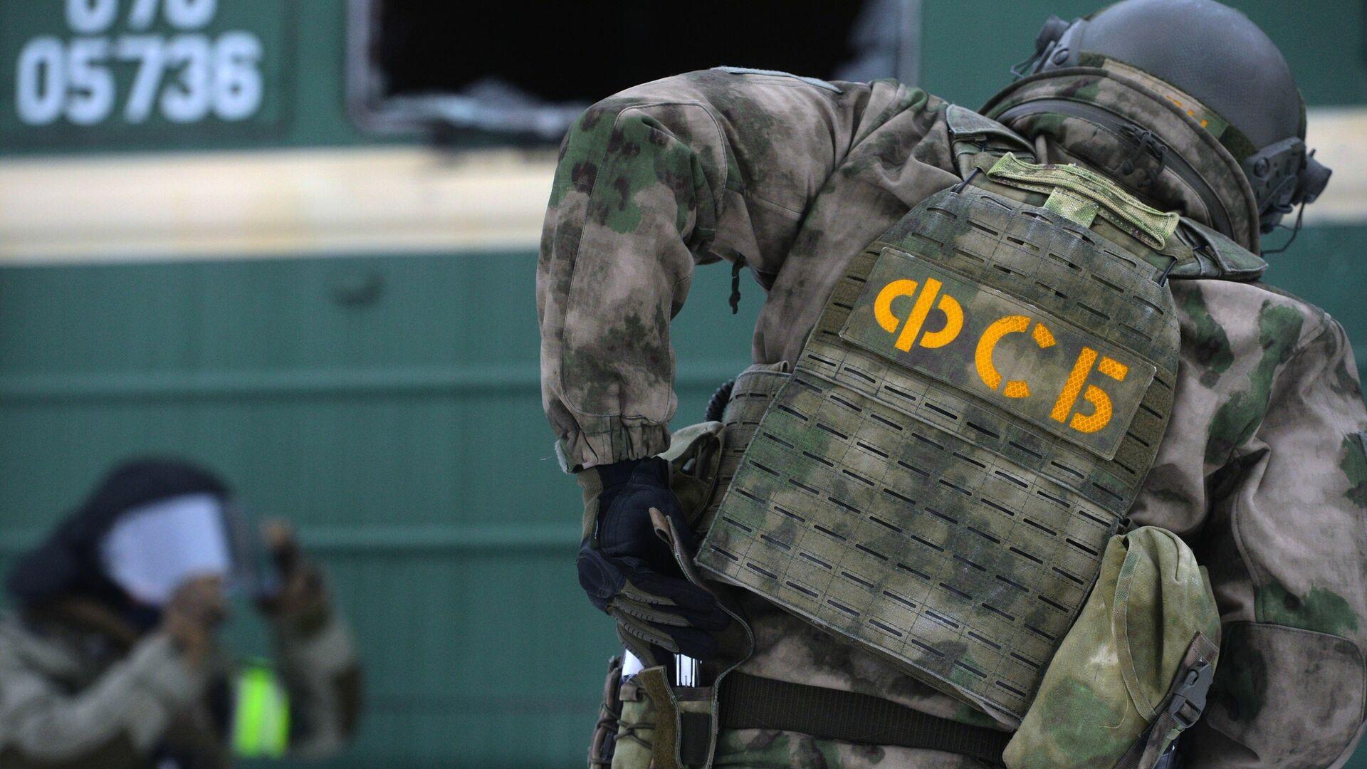 Einsatzkräfte des russischen Inlandsgeheimdienstes FSB (Archivbild) - SNA, 1920, 01.07.2021