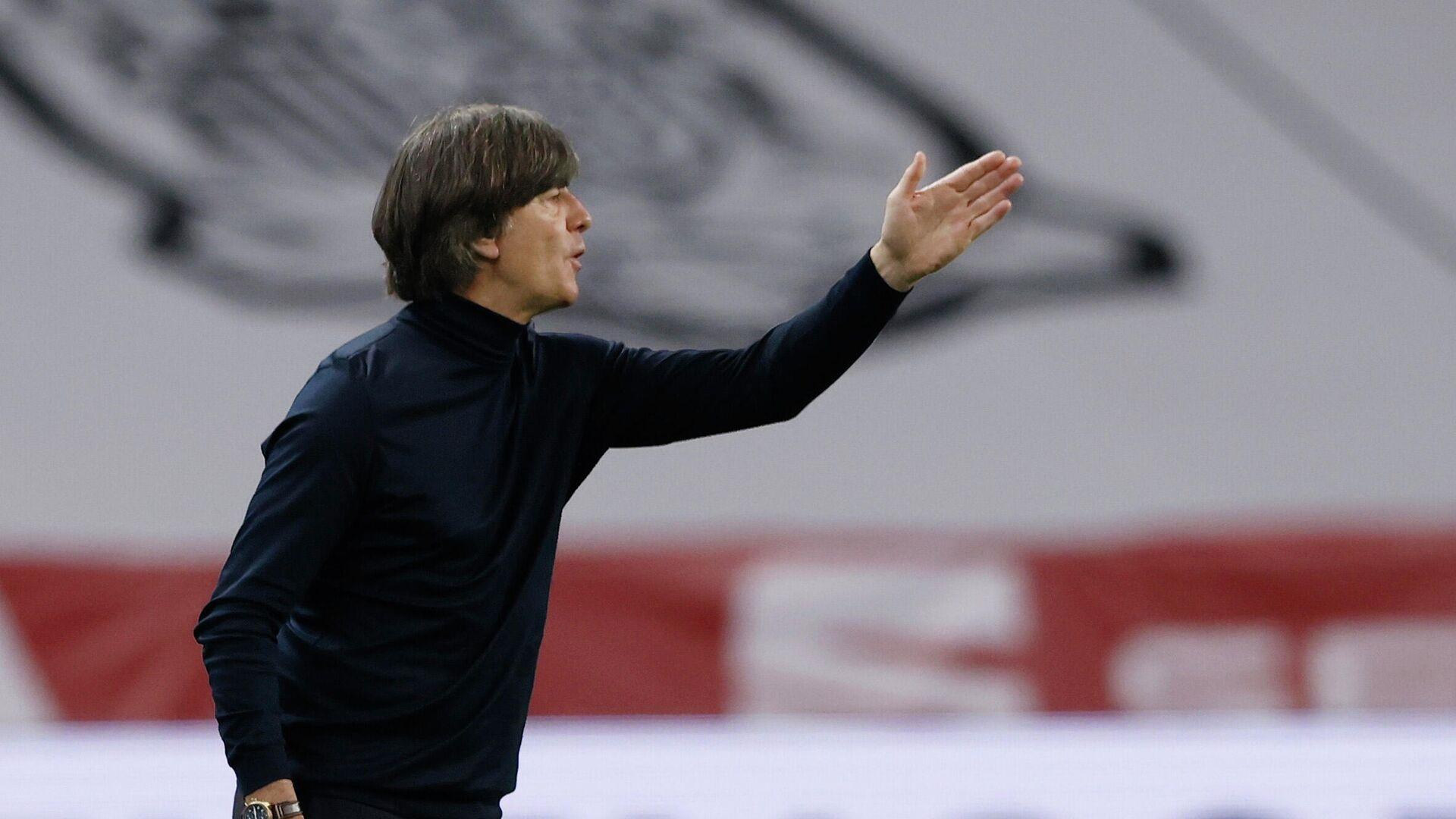 Bundestrainer Jogi Löw beim Spiel gegen Spanien - SNA, 1920, 08.12.2020