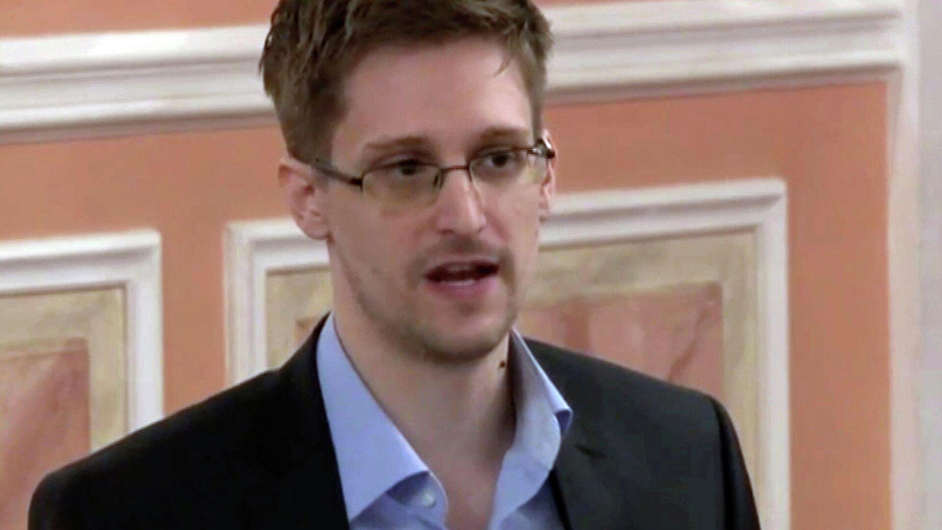 US-Whistleblower Edward Snowden - SNA, 1920, 20.01.2021