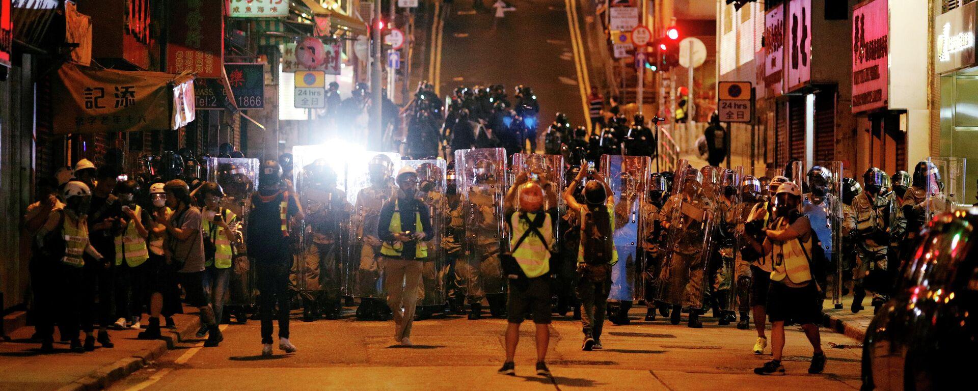 Proteste in Hongkong - SNA, 1920, 08.12.2020