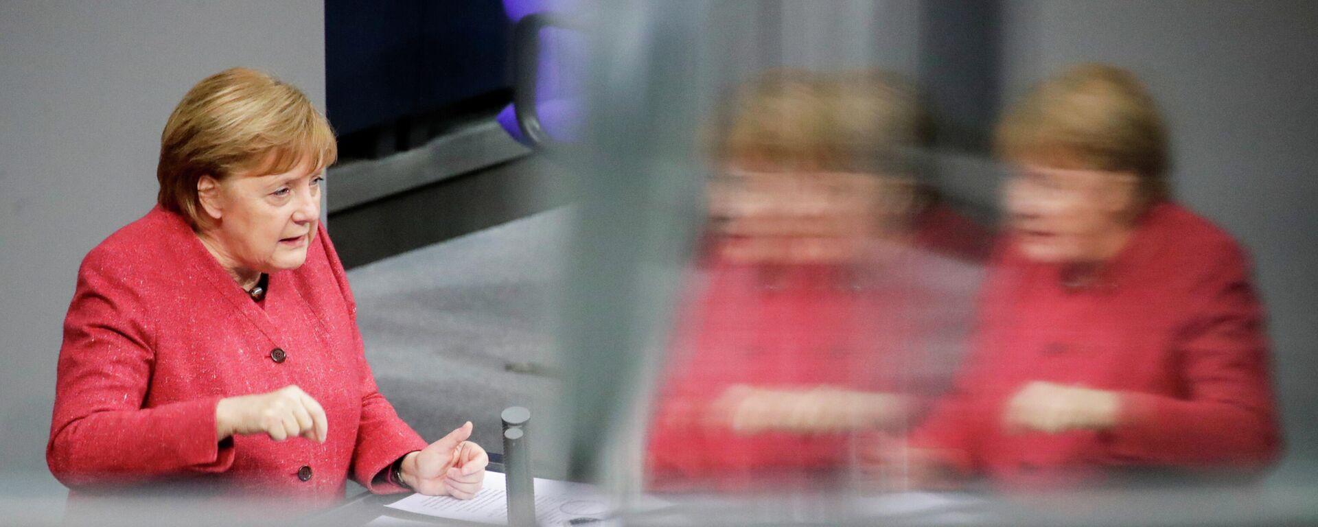 Bundeskanzlerin Angela Merkel im Bundestag (09.12.2020) - SNA, 1920, 09.12.2020