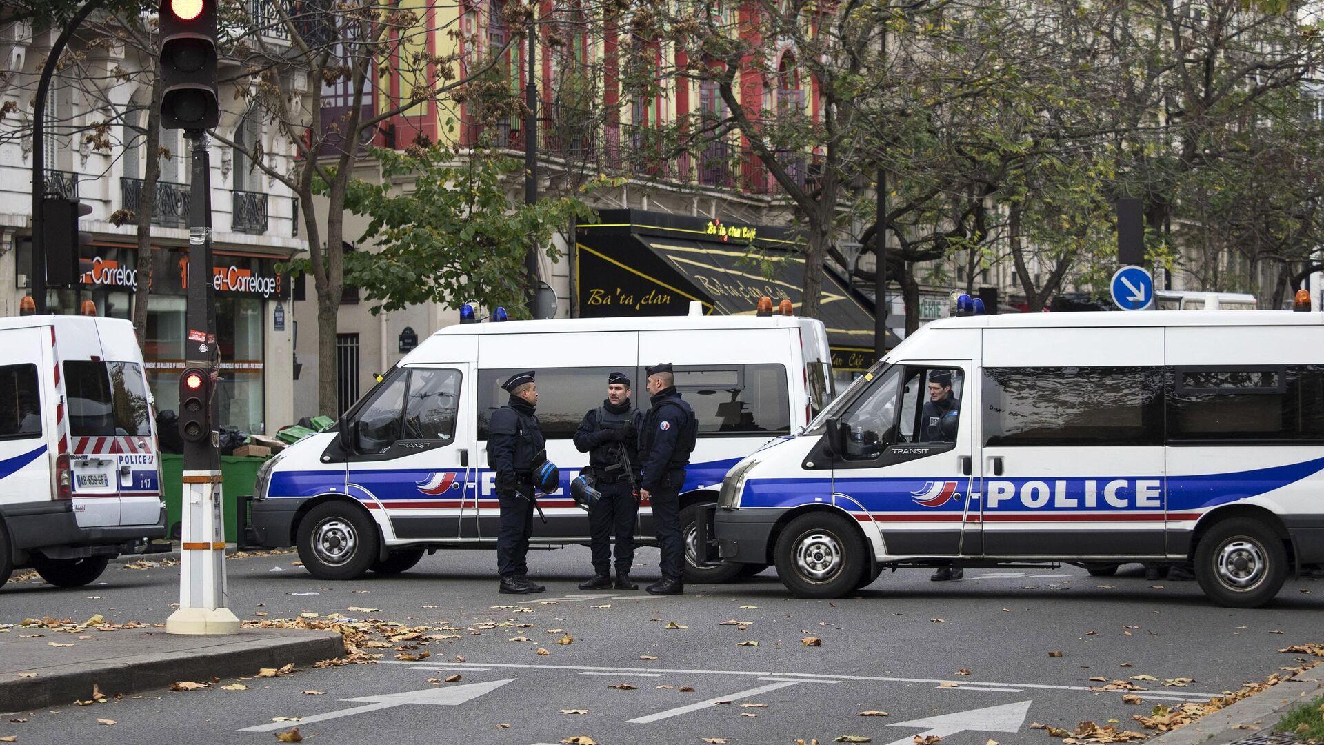 Polizei in Frankreich (Symbolbild)  - SNA, 1920, 01.02.2021