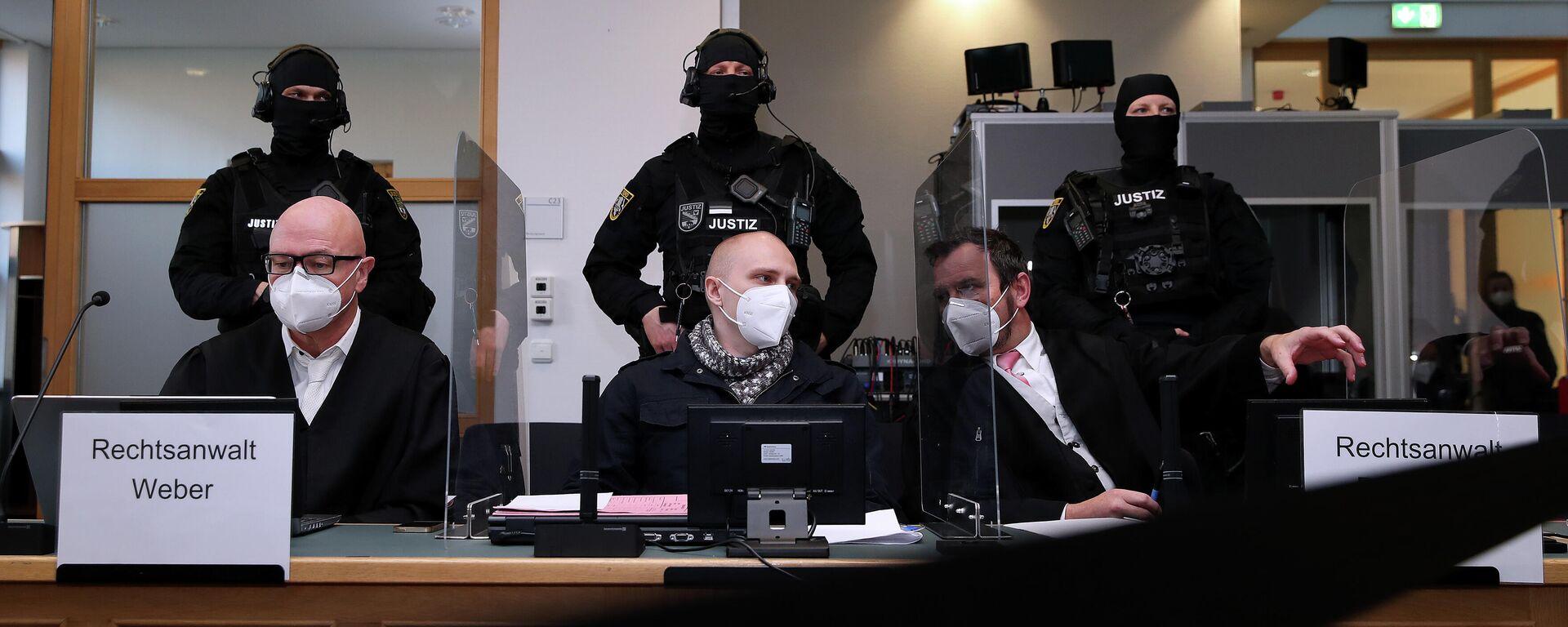Der Angeklagte Stephan Balliet im Halle-Prozess - SNA, 1920, 09.12.2020