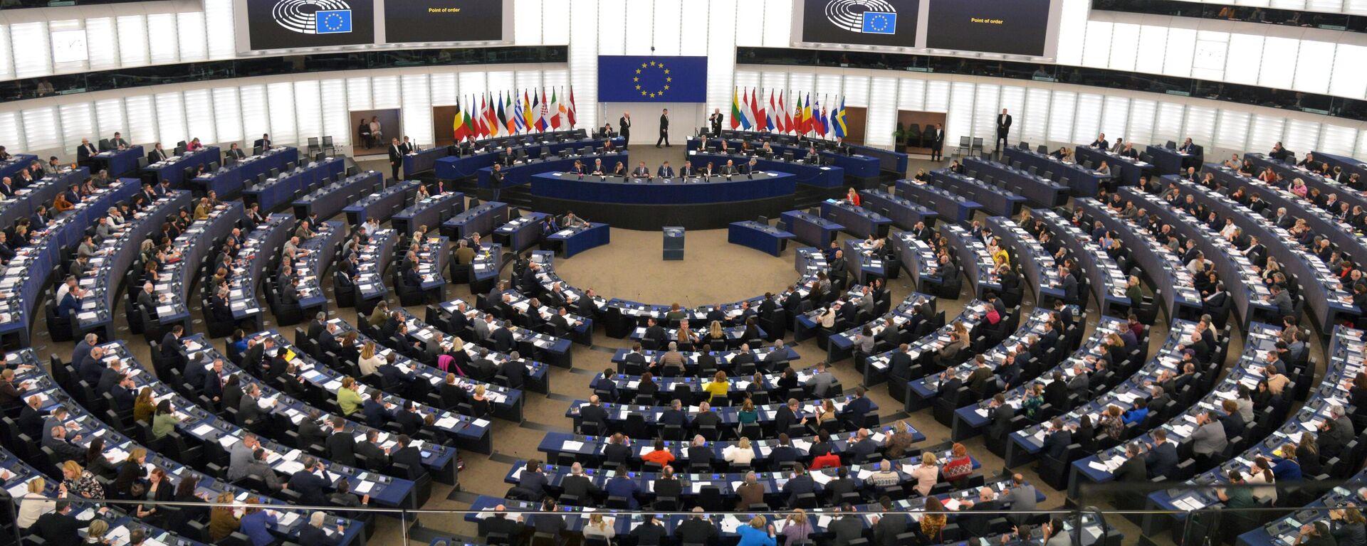 Sitzung des Europäischen Parlaments in Straßburg (Archivbild) - SNA, 1920, 09.02.2021