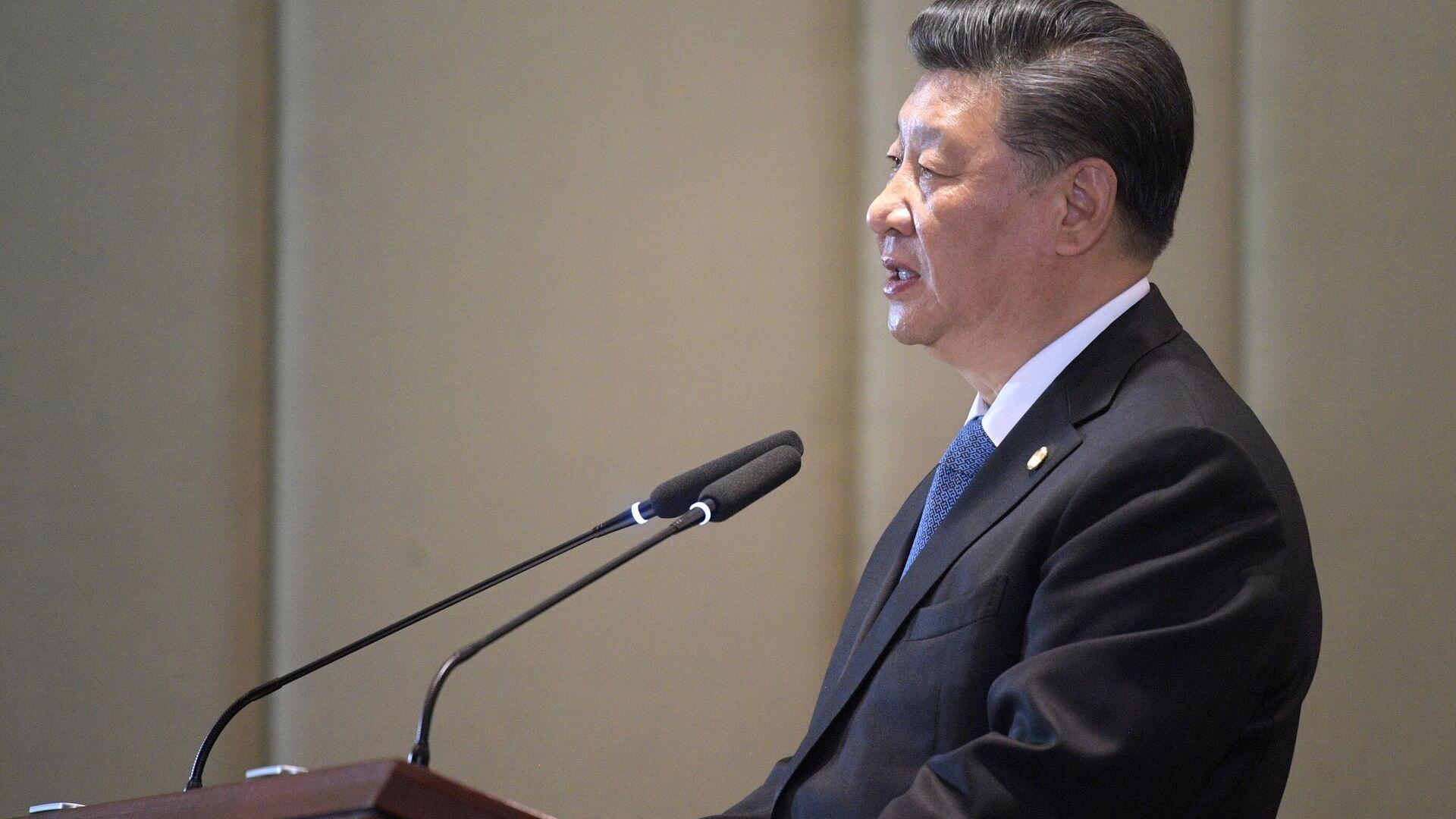 Der chinesische Staatschef Xi Jinping (Archivfoto) - SNA, 1920, 25.02.2021