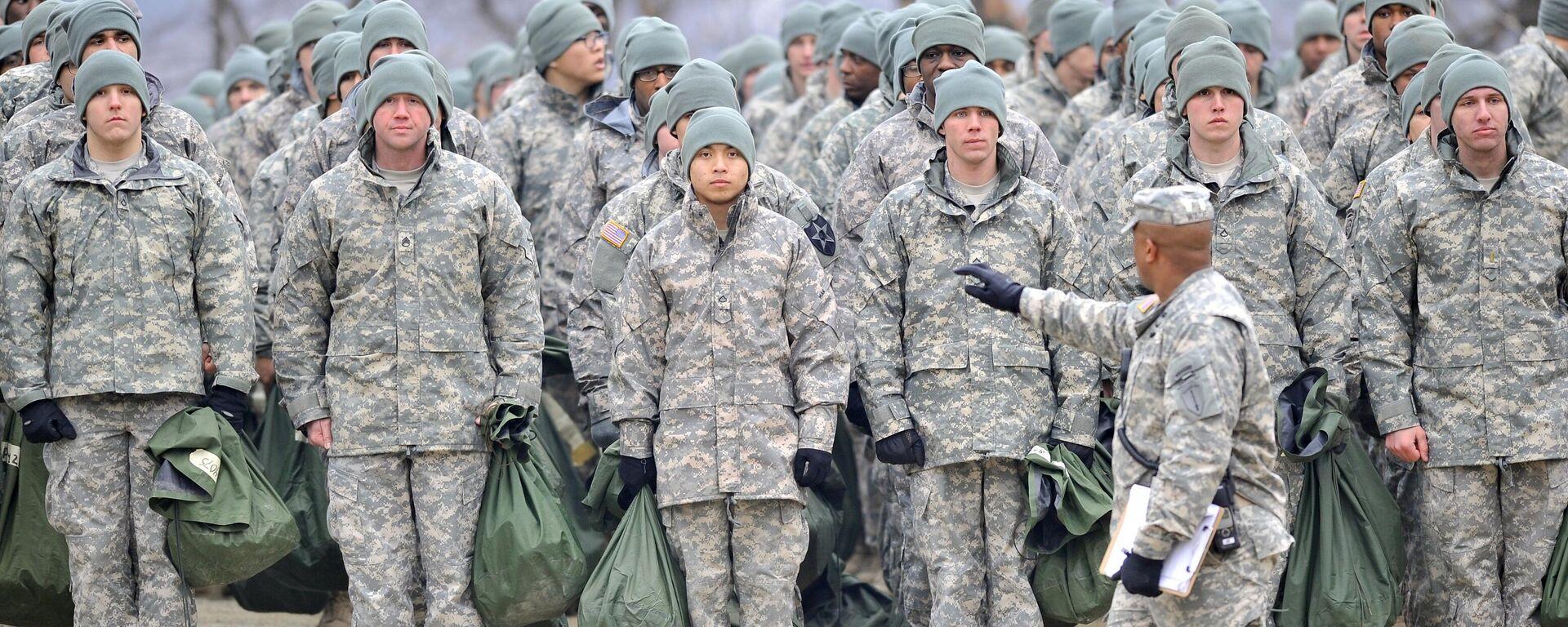 US-Soldaten bei einer Übung in Dongducheon (Archivbild) - SNA, 1920, 11.12.2020