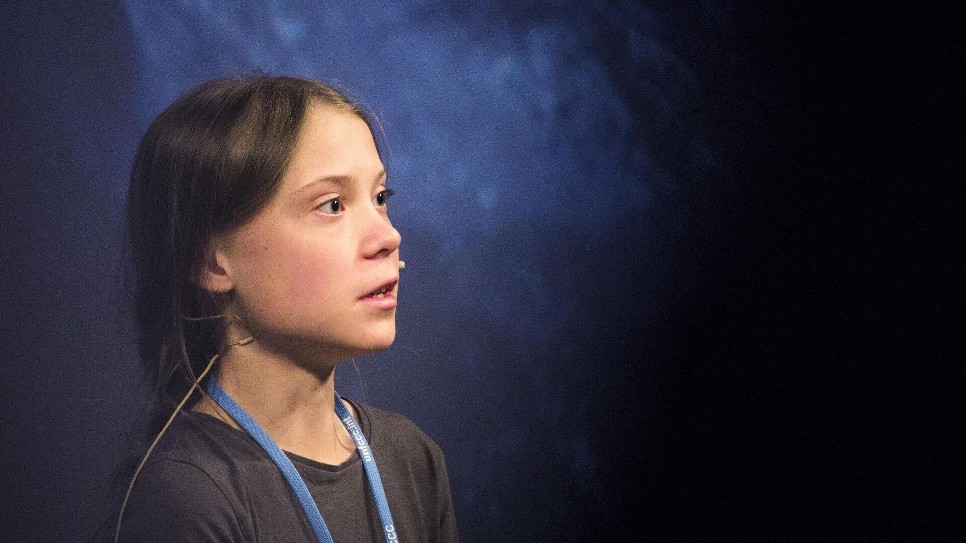 Greta Thunberg (Archivfoto) - SNA, 1920, 17.09.2021