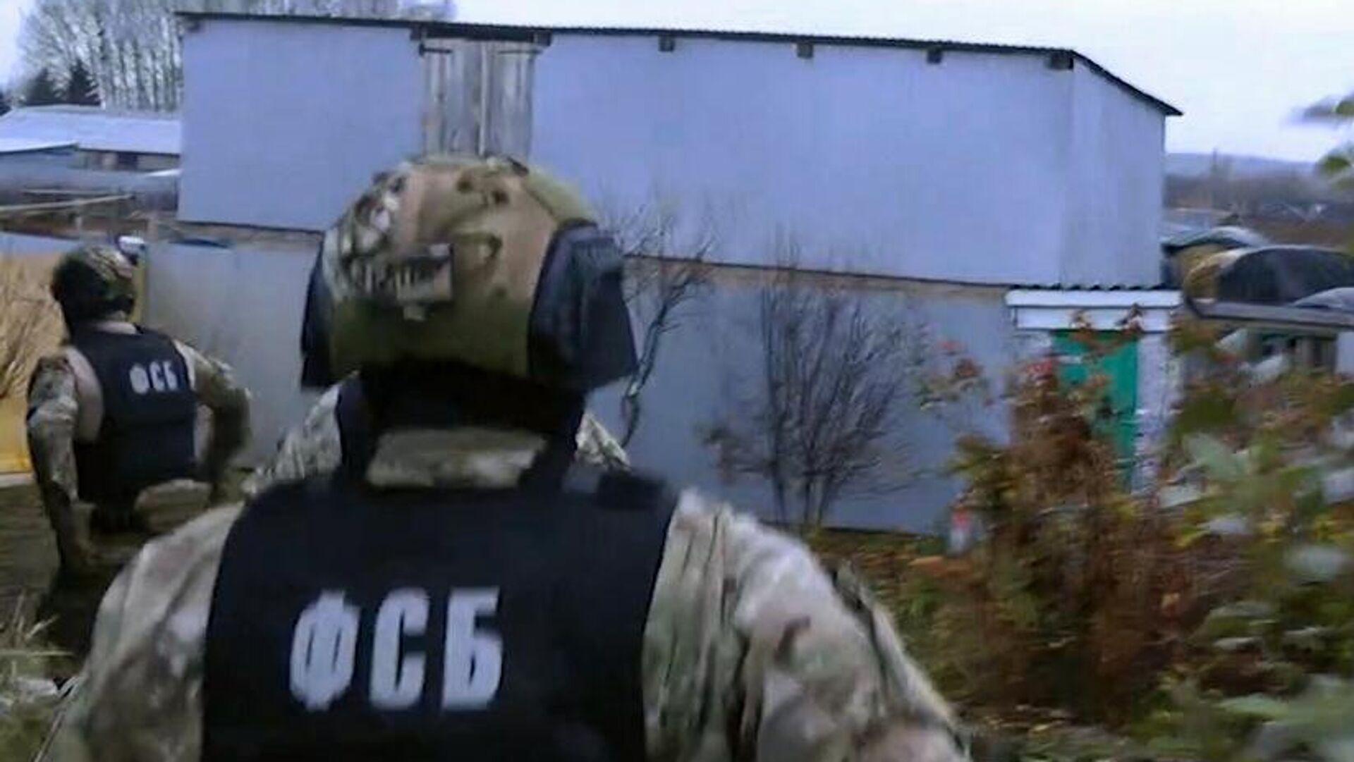 Angehörige des russischen Inlandsgeheimdienstes FSB - SNA, 1920, 29.04.2021