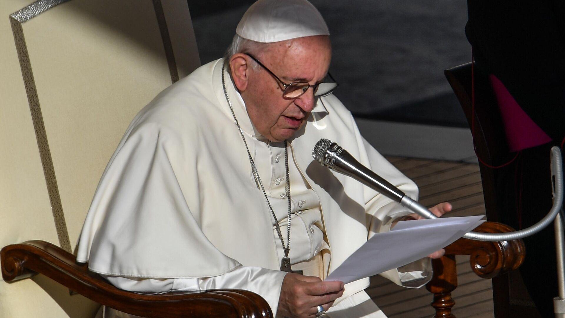 Papst Franziskus (Archivfoto) - SNA, 1920, 04.07.2021