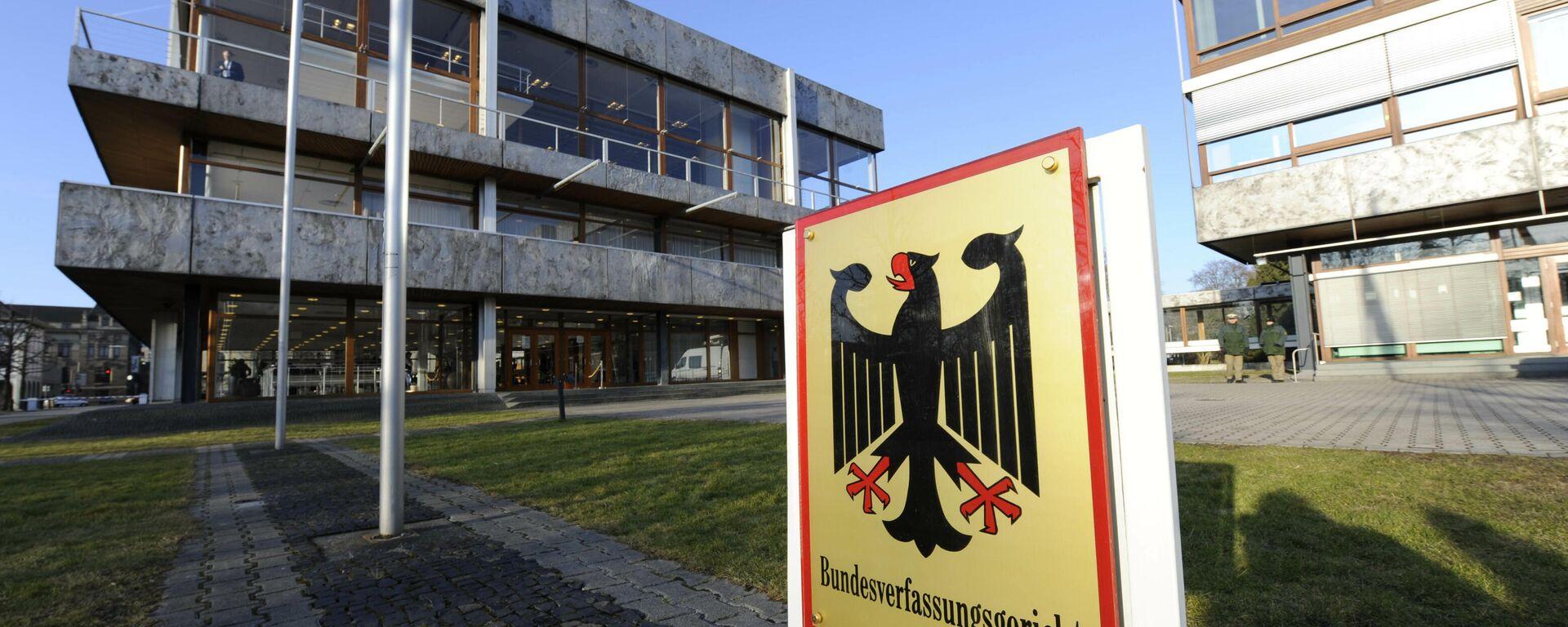 Bundesverfassungsgericht in Karlsruhe  (Archivbild) - SNA, 1920, 26.03.2021