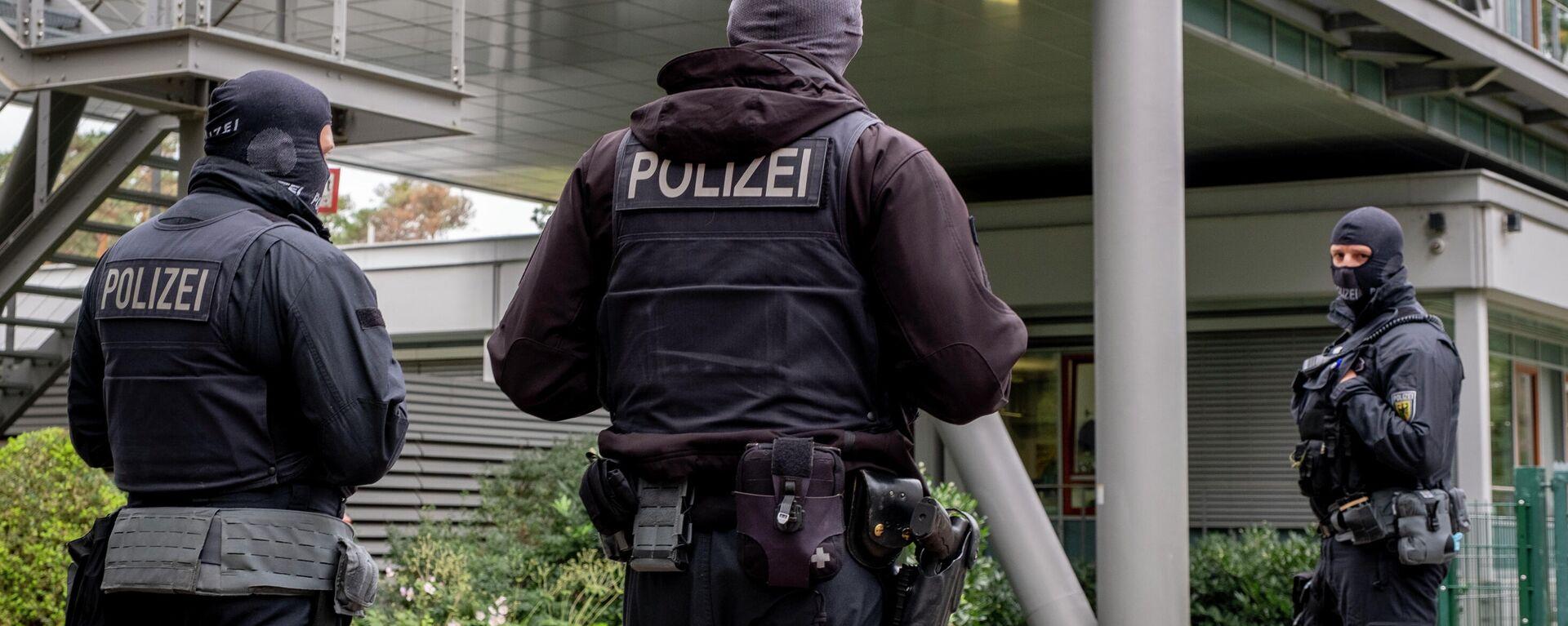 Polizei in Deutschland (Symbolbild) - SNA, 1920, 21.12.2020