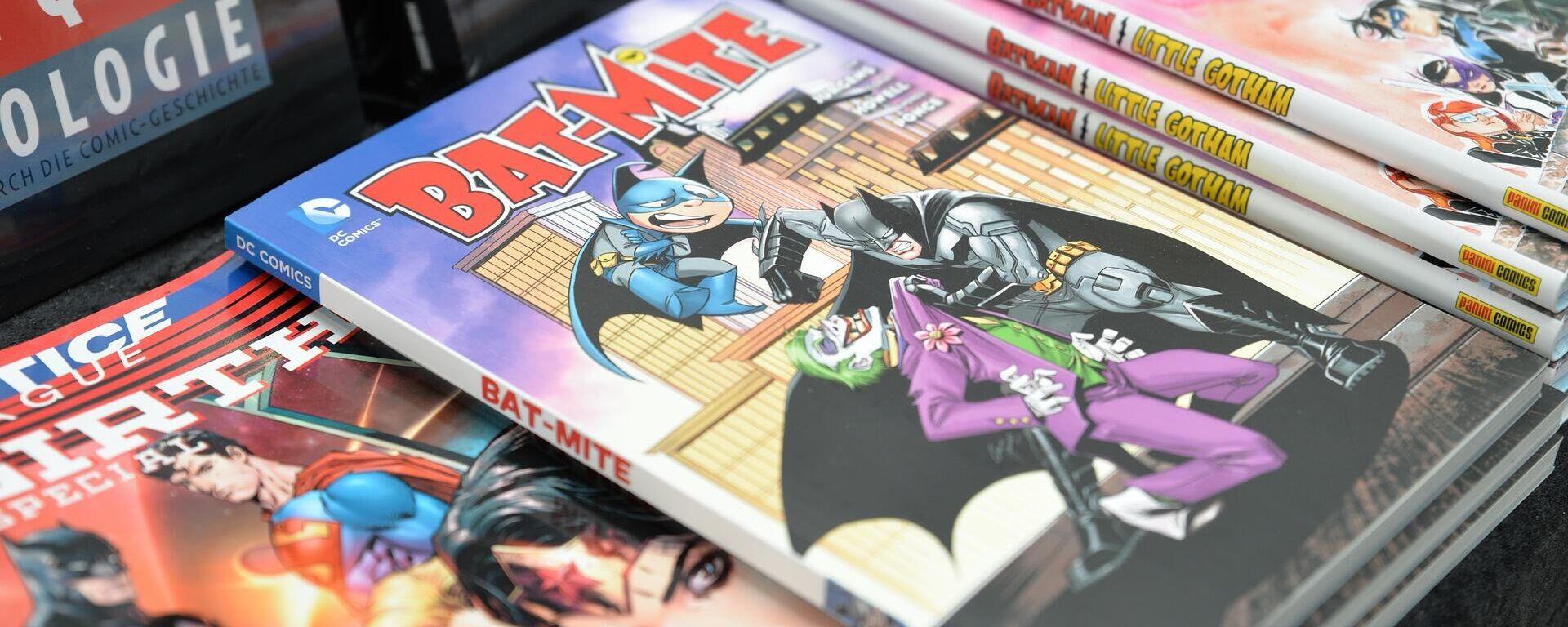 Comic-Bände des Verlags DC Comics (Archiv) - SNA, 1920, 13.12.2020
