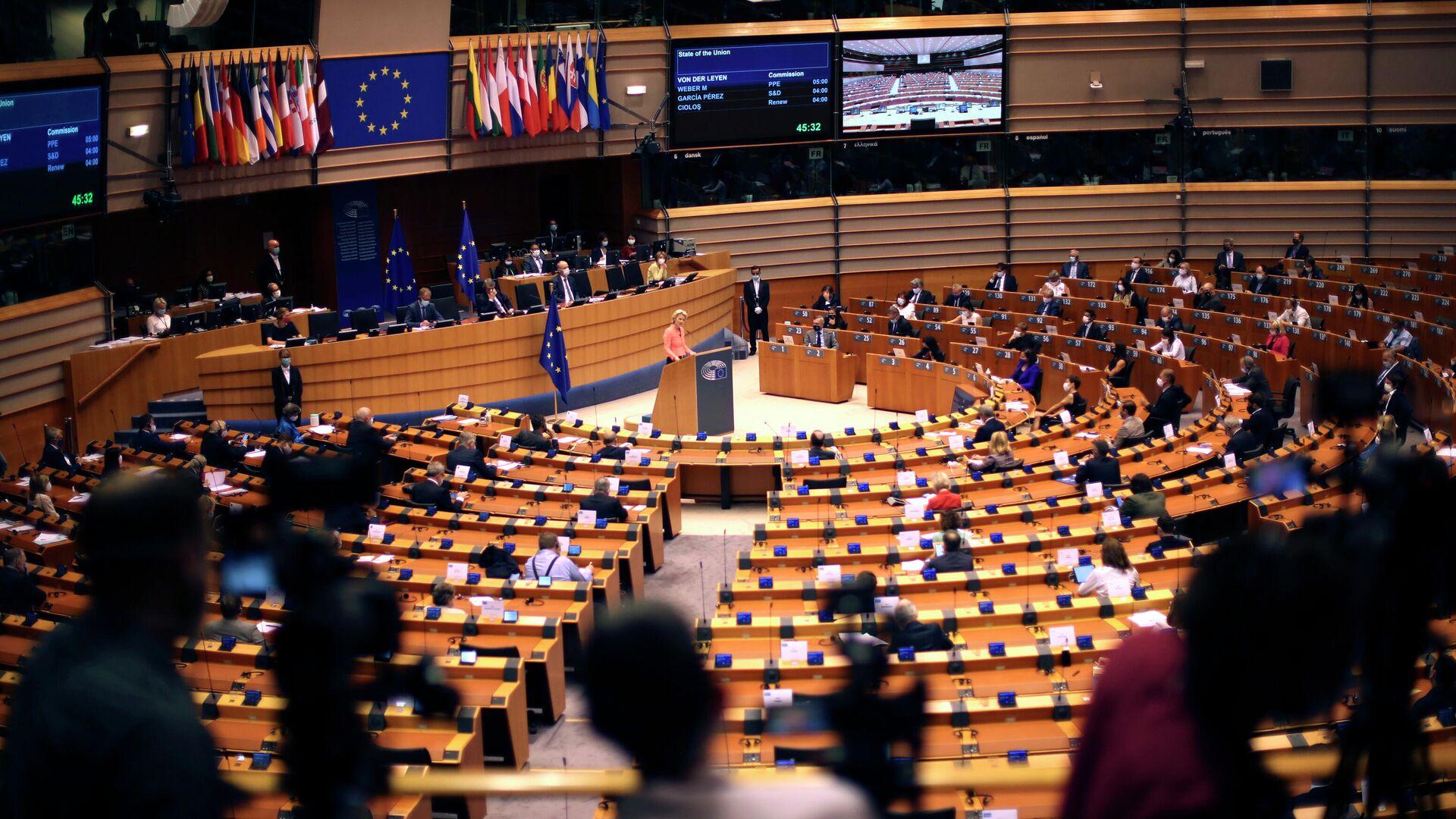 EU-Kommission in Brüssel - SNA, 1920, 27.02.2021