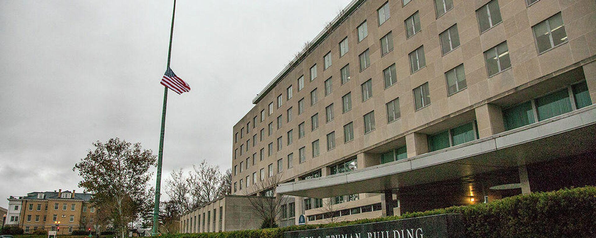 US-Außenministerium in Washington (Archivbild) - SNA, 1920, 27.04.2021