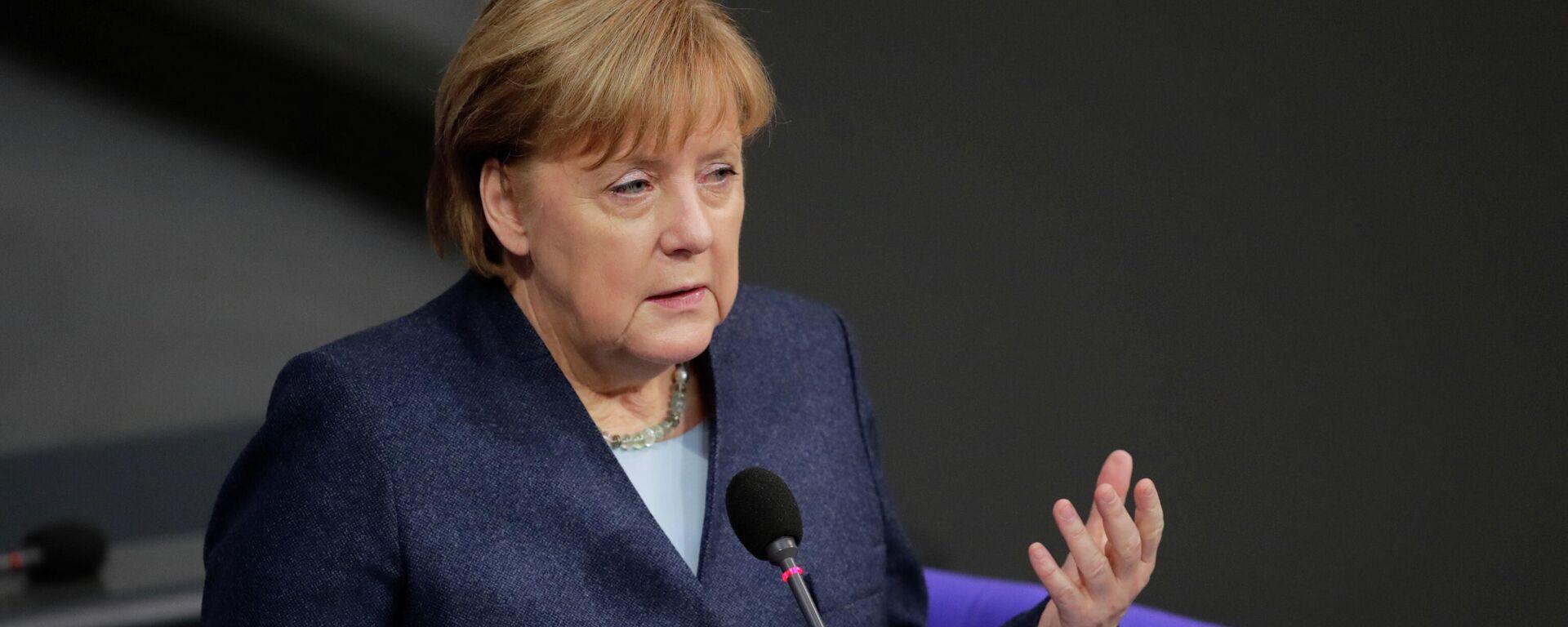 Bundeskanzlerin Angela Merkel  - SNA, 1920, 30.12.2020
