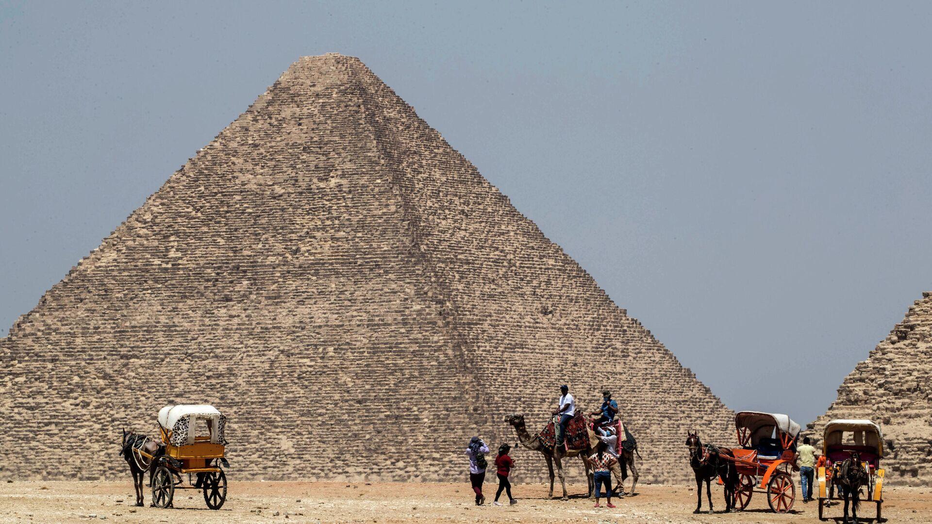 Cheops-Pyramide in Ägypten (Archiv) - SNA, 1920, 16.12.2020