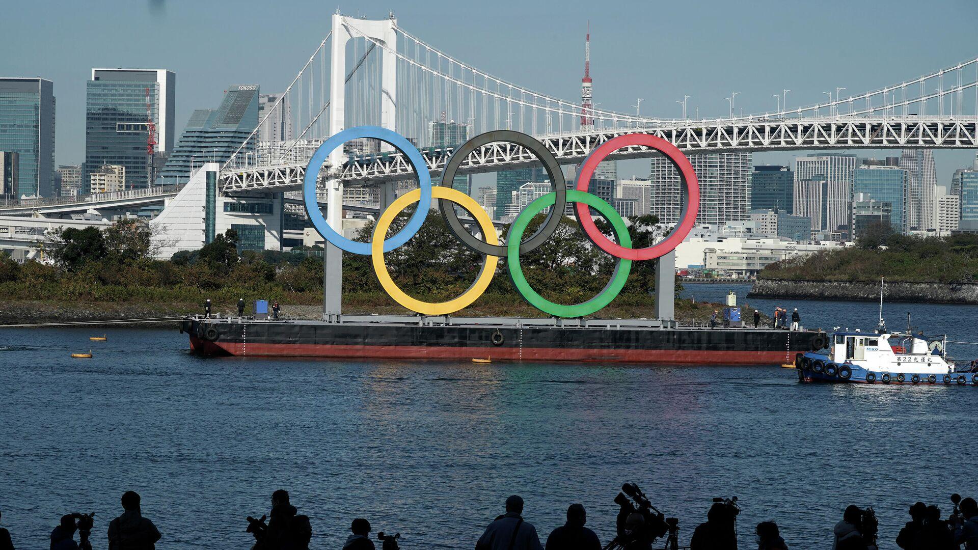Olympische Sommerspiele 2020, Tokio (Symbolbild) - SNA, 1920, 29.01.2021