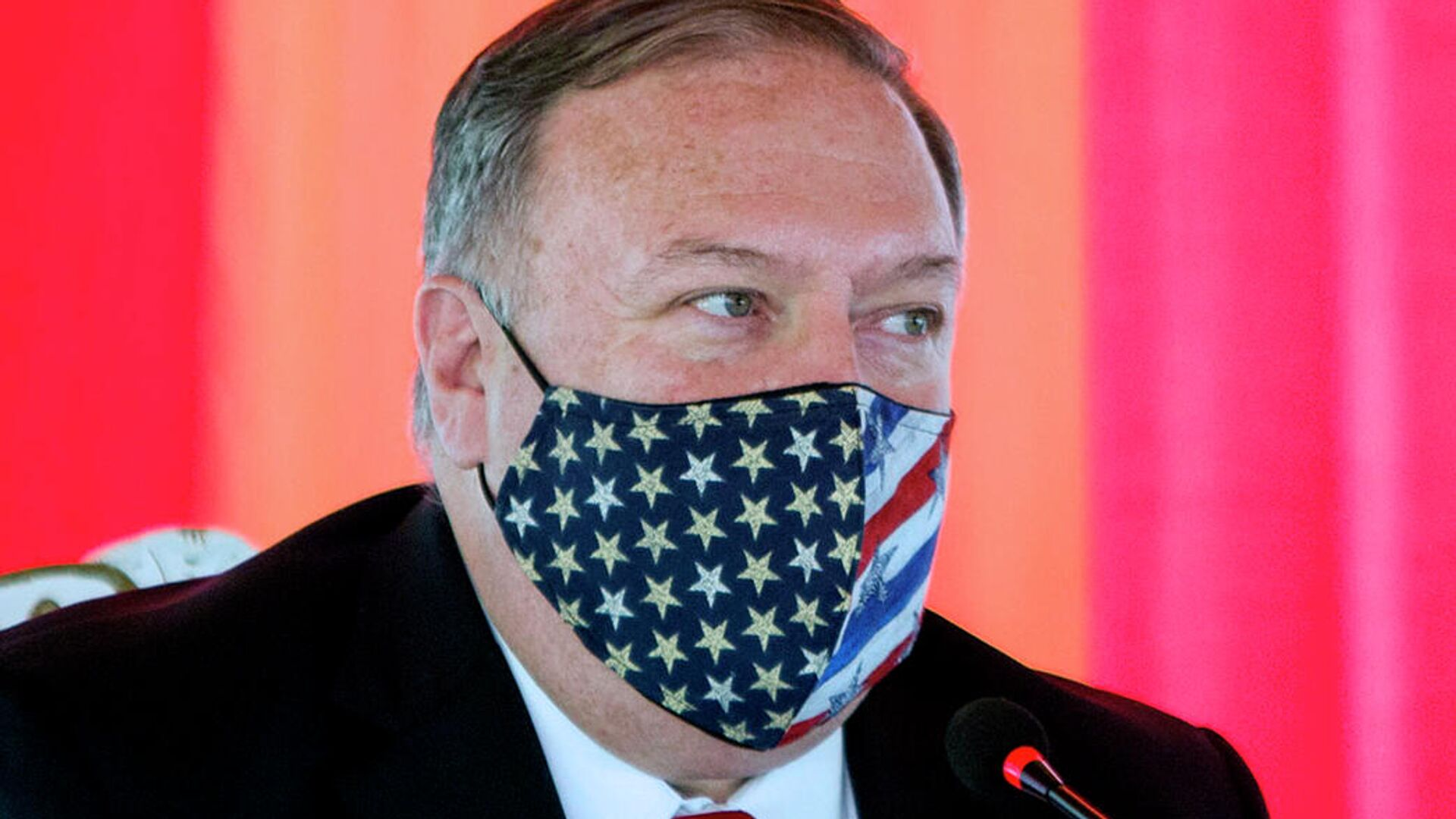 US-Außenminister Mike Pompeo - SNA, 1920, 19.12.2020