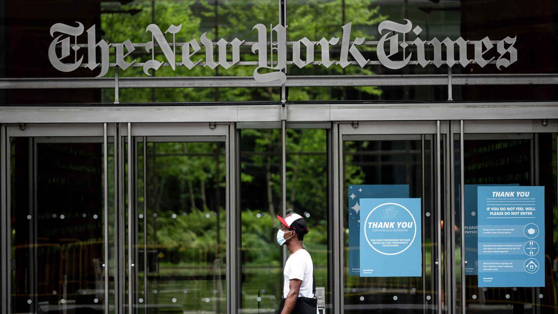 Gebäude der New York Times in New York - SNA, 1920, 19.12.2020