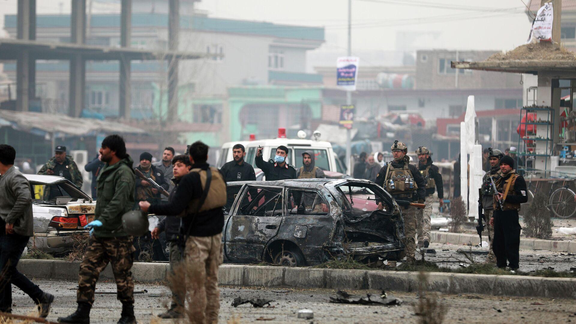 Autobombenangriff in Kabul - SNA, 1920, 11.08.2021