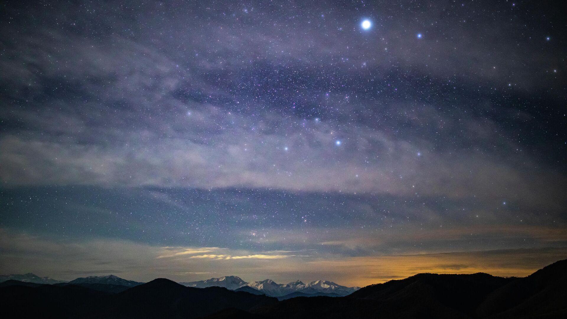 Nachthimmel (Symbolbild) - SNA, 1920, 14.05.2021