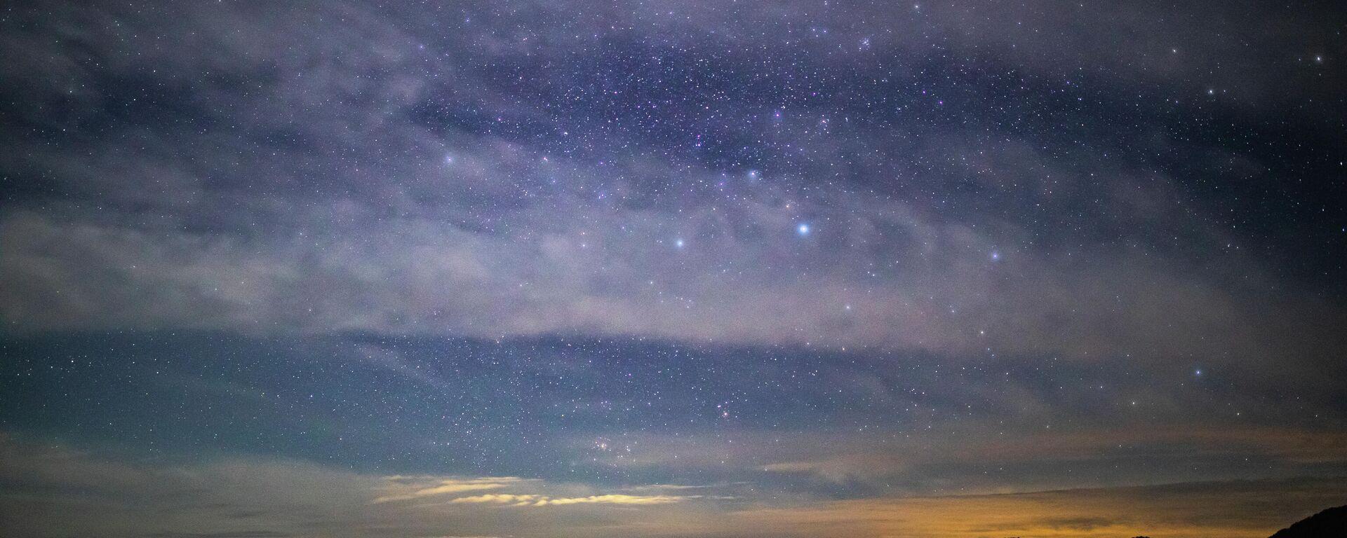 Nachthimmel (Symbolbild) - SNA, 1920, 17.07.2021