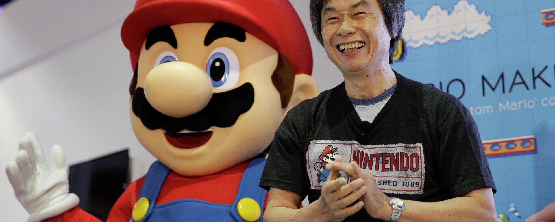 Japanischer Videospieldesigner Shigeru Miyamoto - SNA, 1920, 20.12.2020