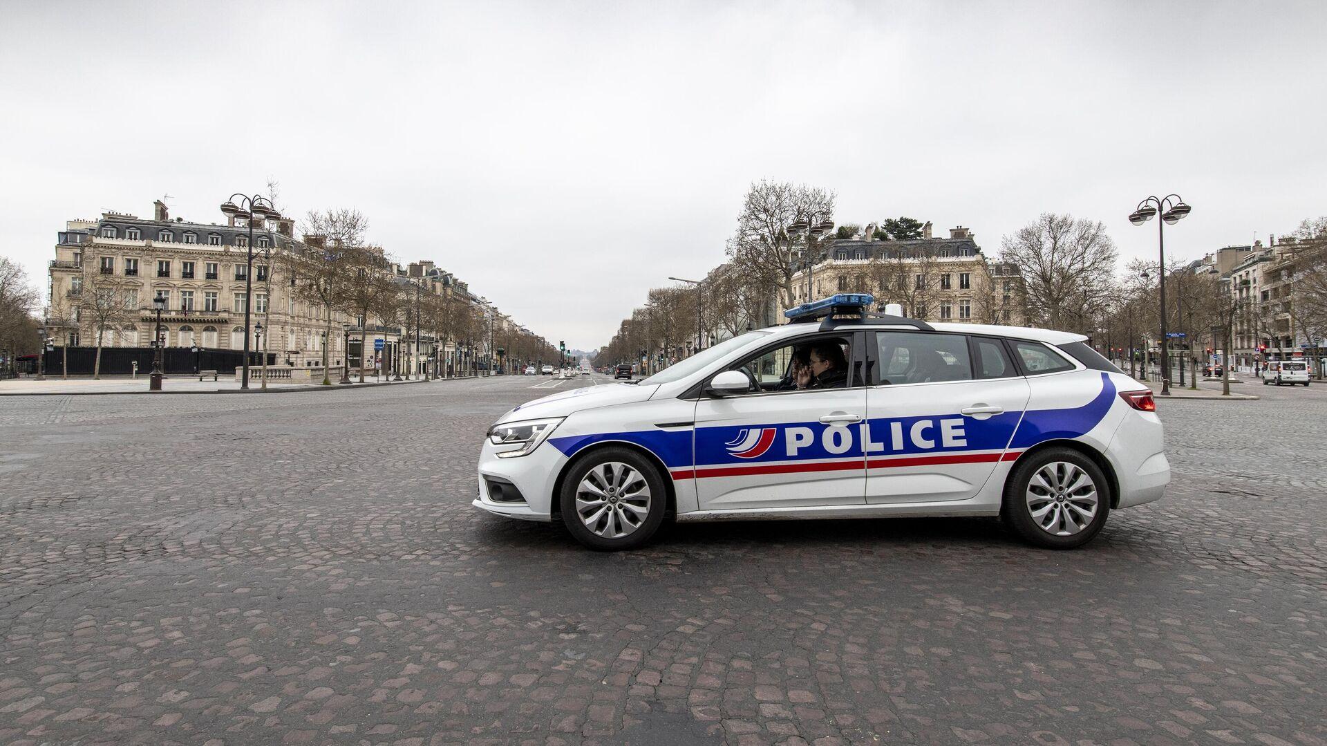 Polizei in Frankreich (Archiv) - SNA, 1920, 22.09.2021