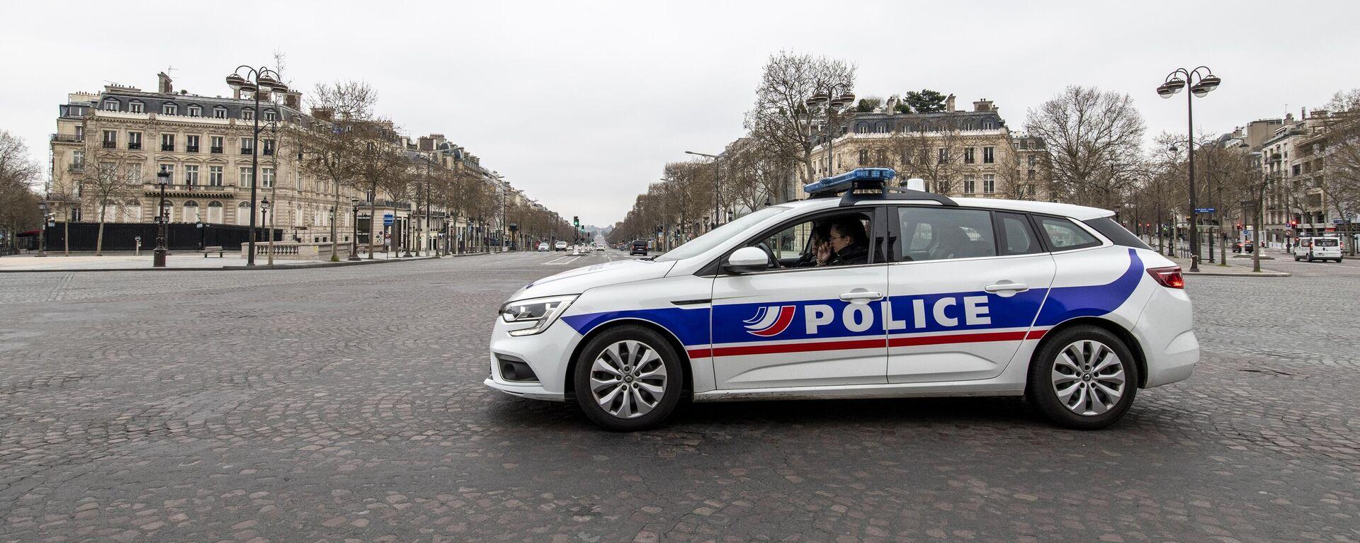 Polizei in Frankreich (Archiv) - SNA, 1920, 20.12.2020