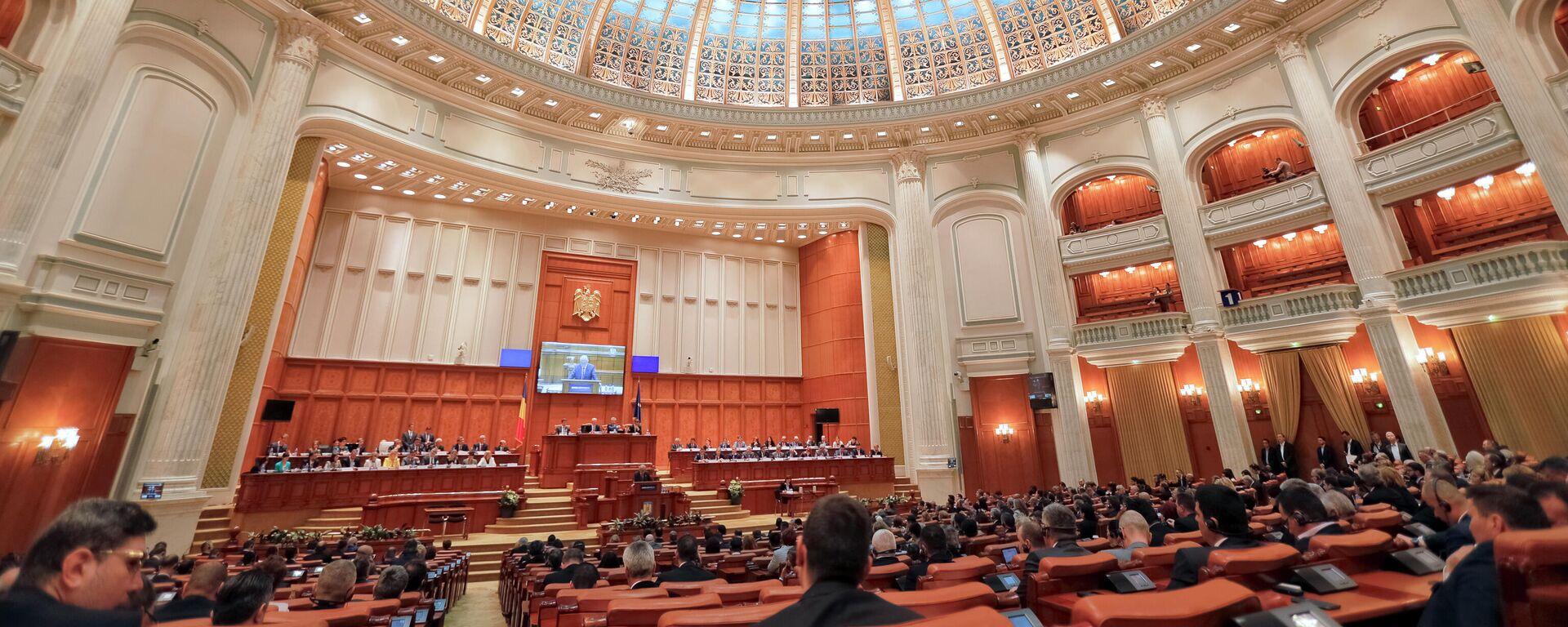 Rumänische Parlamentarier (Archivbild) - SNA, 1920, 21.12.2020