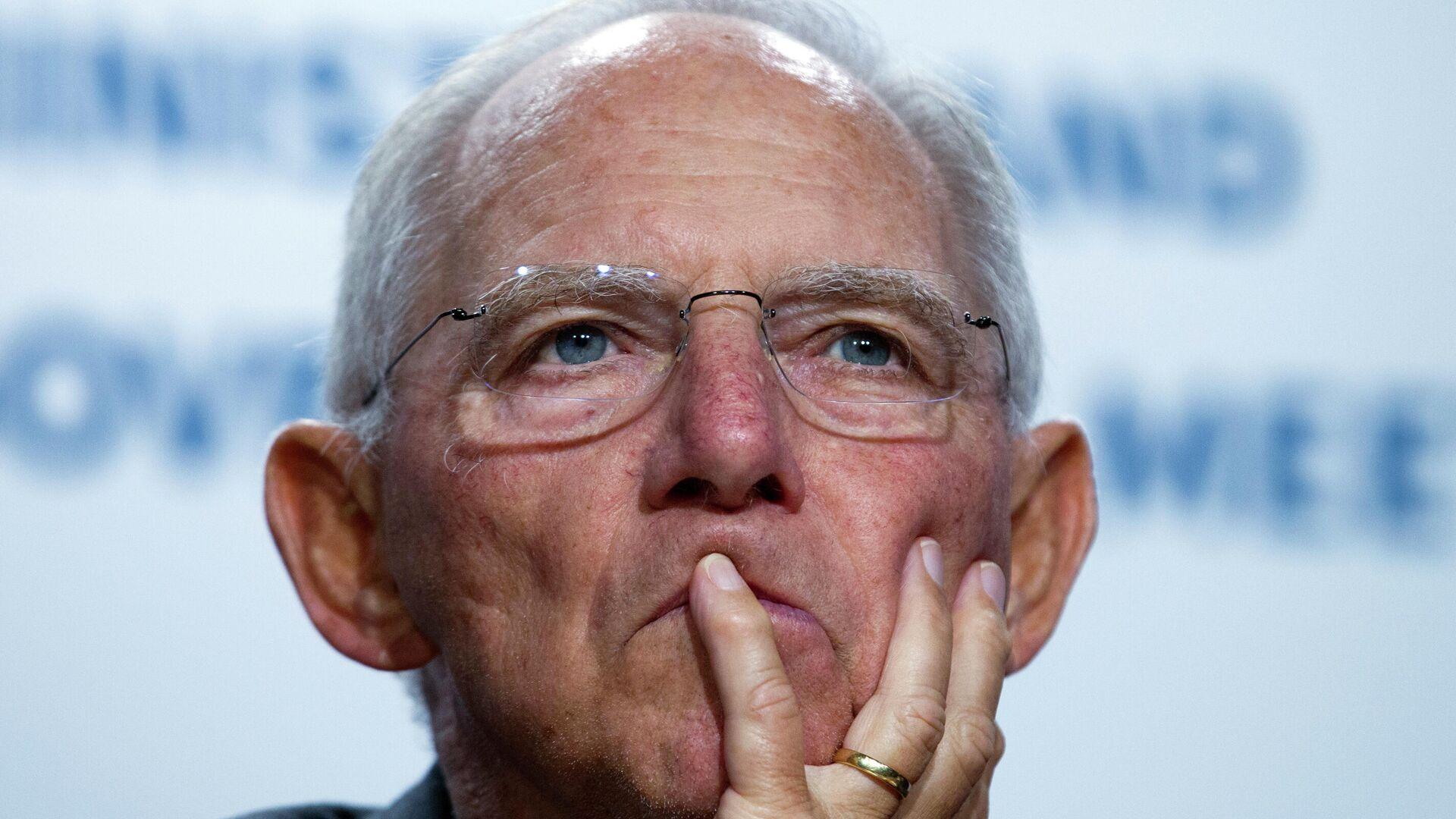 Wolfgang Schäuble (Archivfoto) - SNA, 1920, 26.06.2021